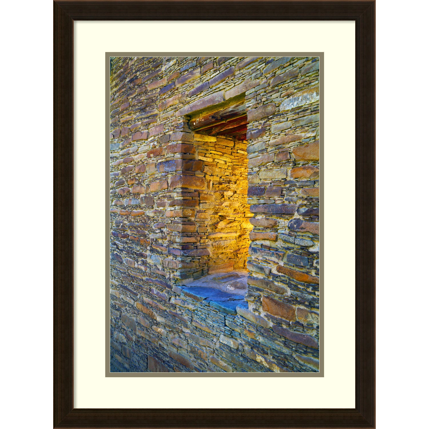 Framed Art Print \'Portal\' by Andy Magee 21 x 28-inch - Free Shipping ...