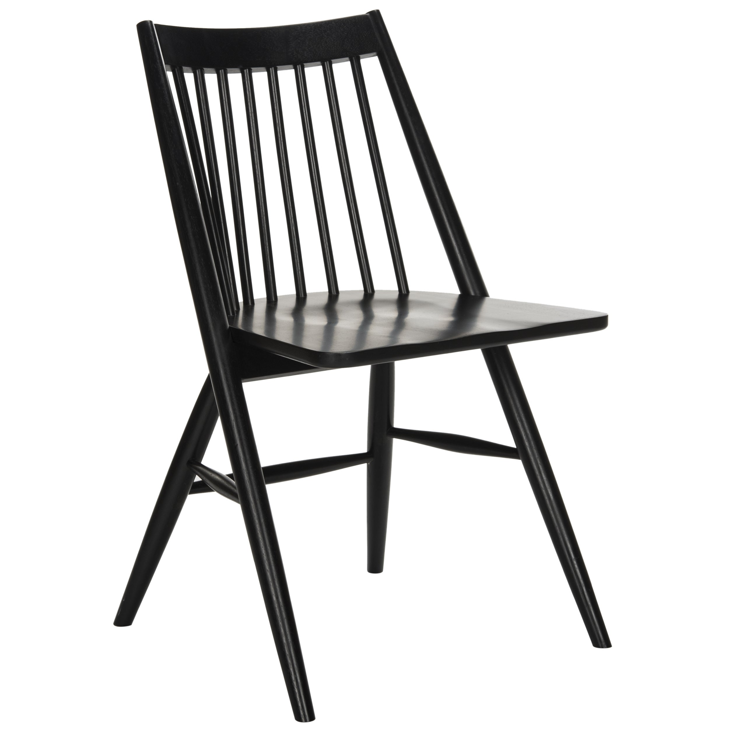 Safavieh Wren 19 H Black Spindle Dining Chair Set Of 2 On Free Shipping Today 14429706