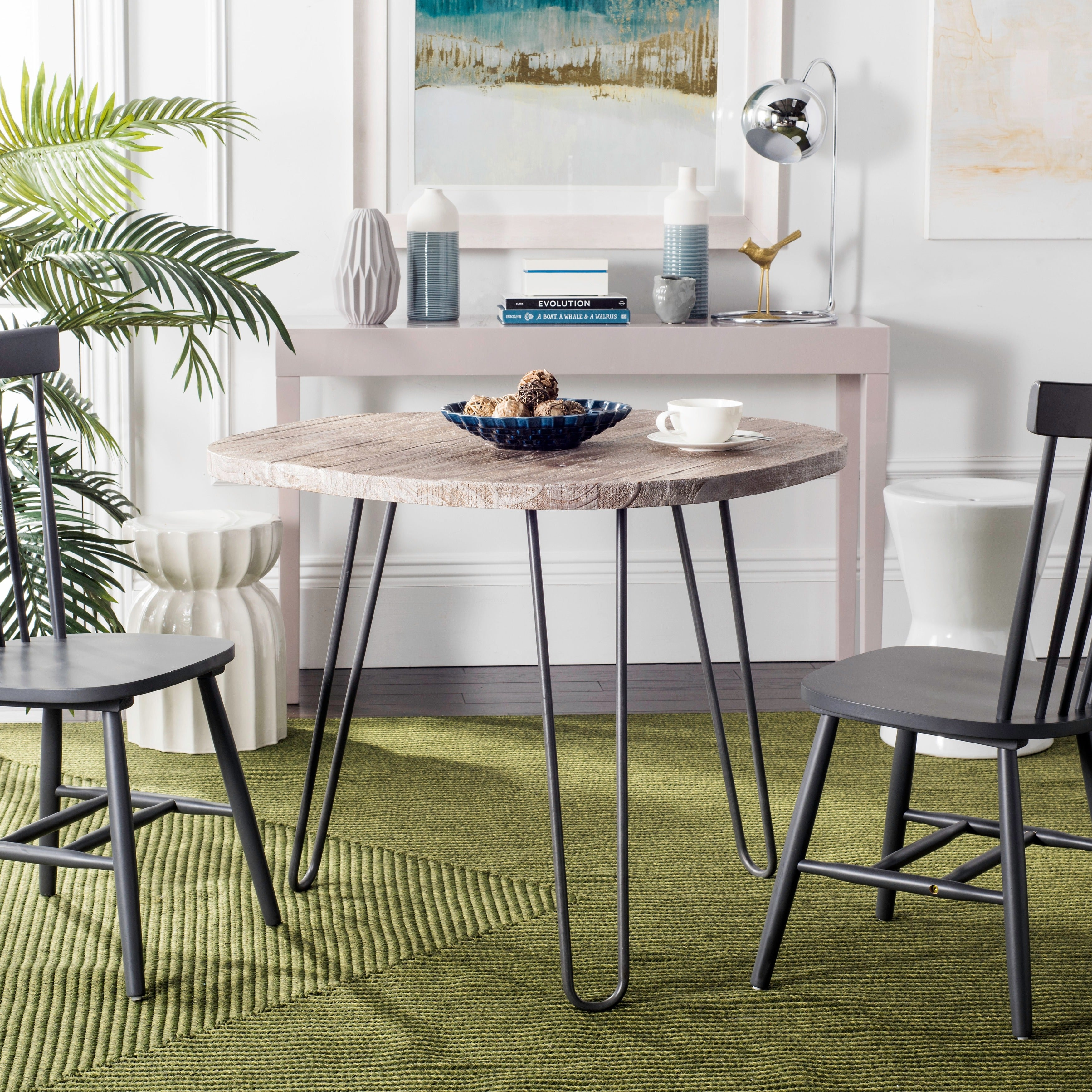living cfm belham product table dining extension trestle kennedy inuse gray hayneedle