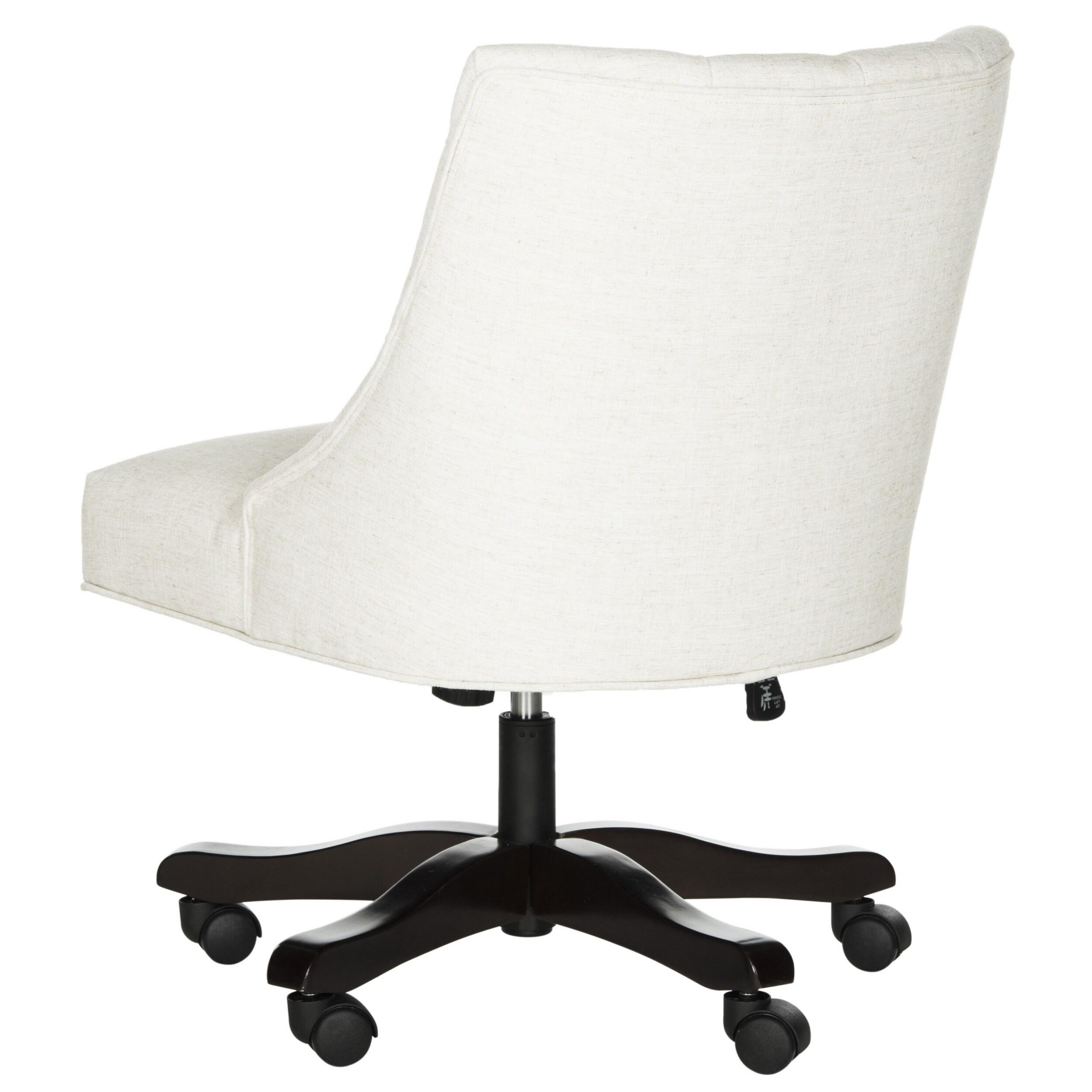Safavieh Soho Swivel Light Cream Desk Chair Free Shipping Today 14430201