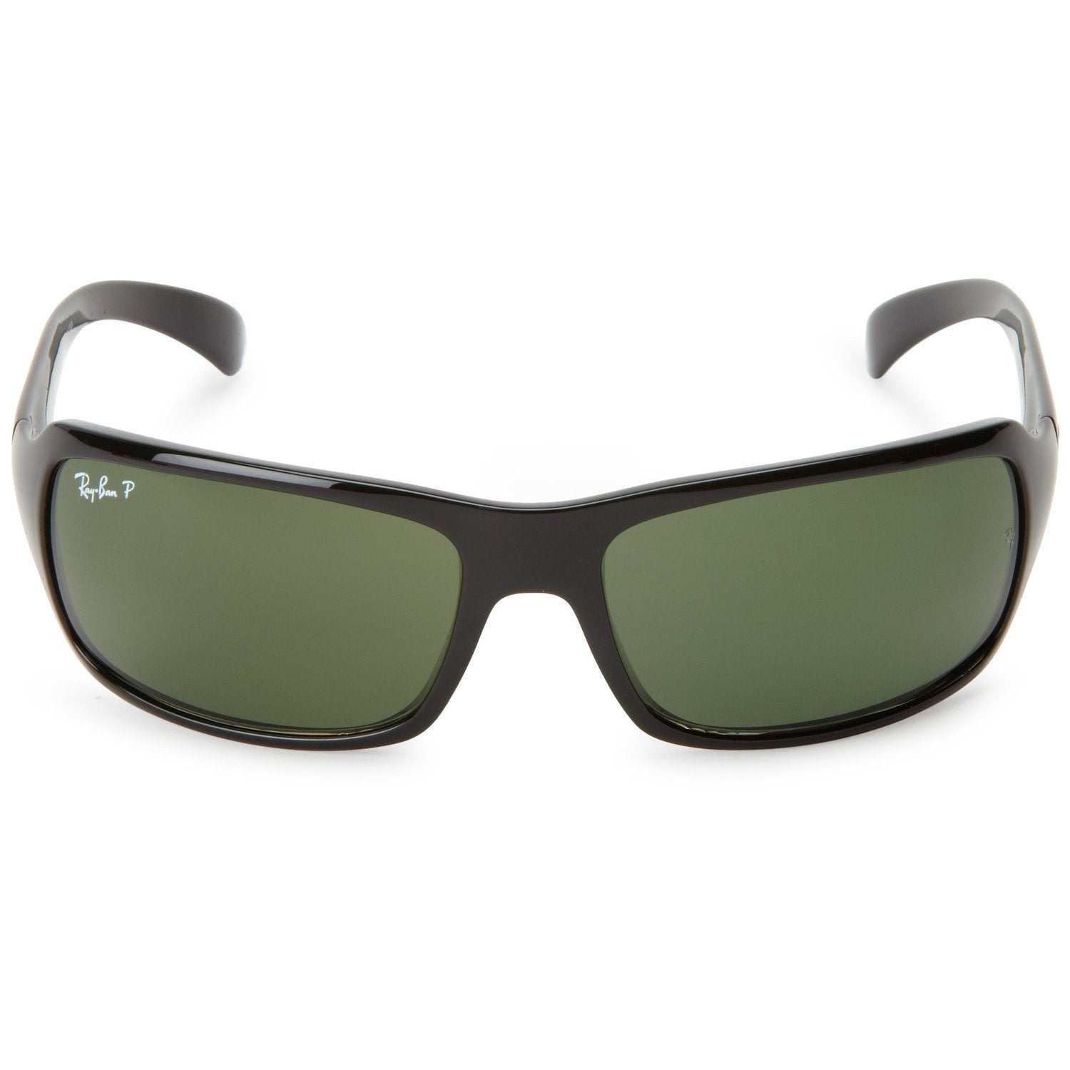 d9d3ebe4b3 Shop Ray-Ban RB4075 601 58 Black Frame Polarized Green 61mm Lens Sunglasses  - Free Shipping Today - Overstock - 14431172