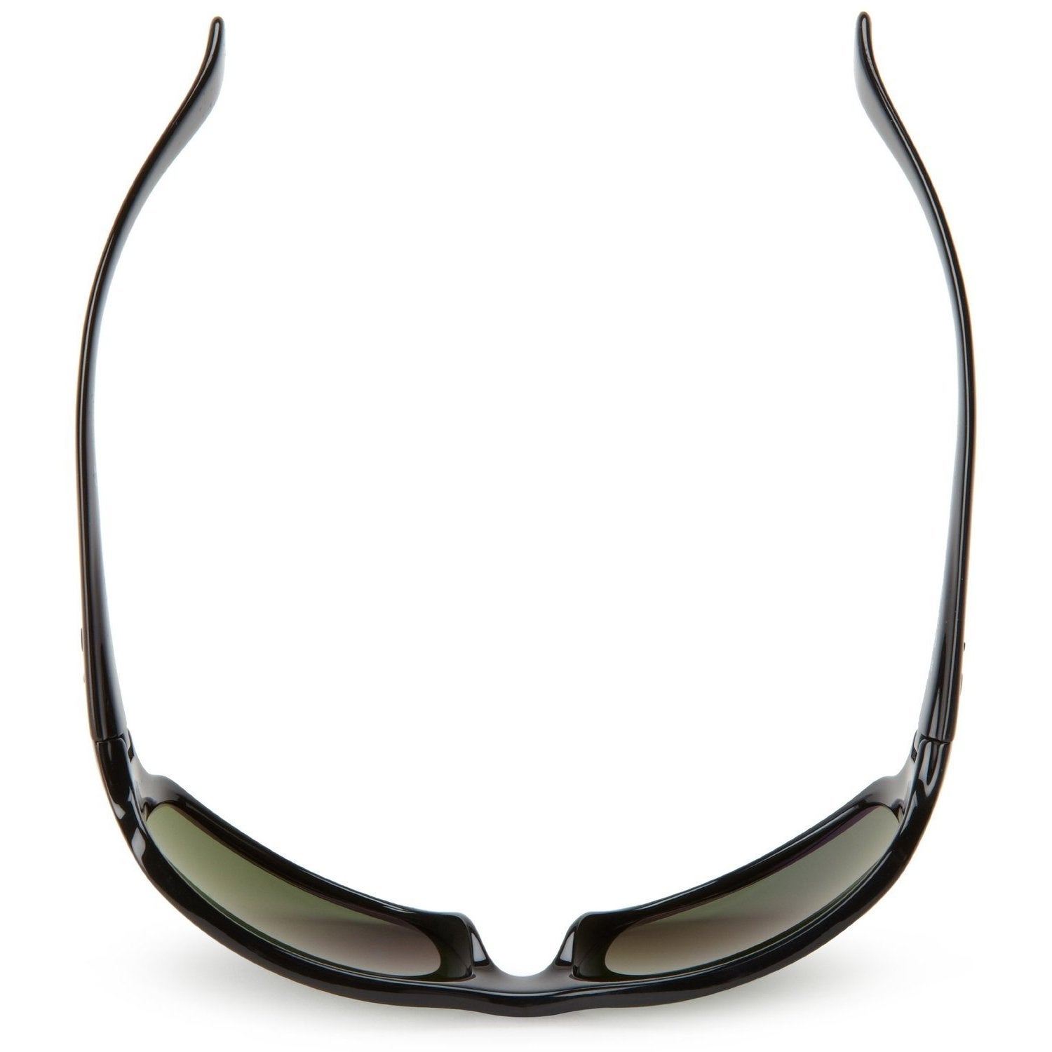 2714152358a Shop Ray-Ban RB4075 601 58 Black Frame Polarized Green 61mm Lens Sunglasses  - Free Shipping Today - Overstock - 14431172
