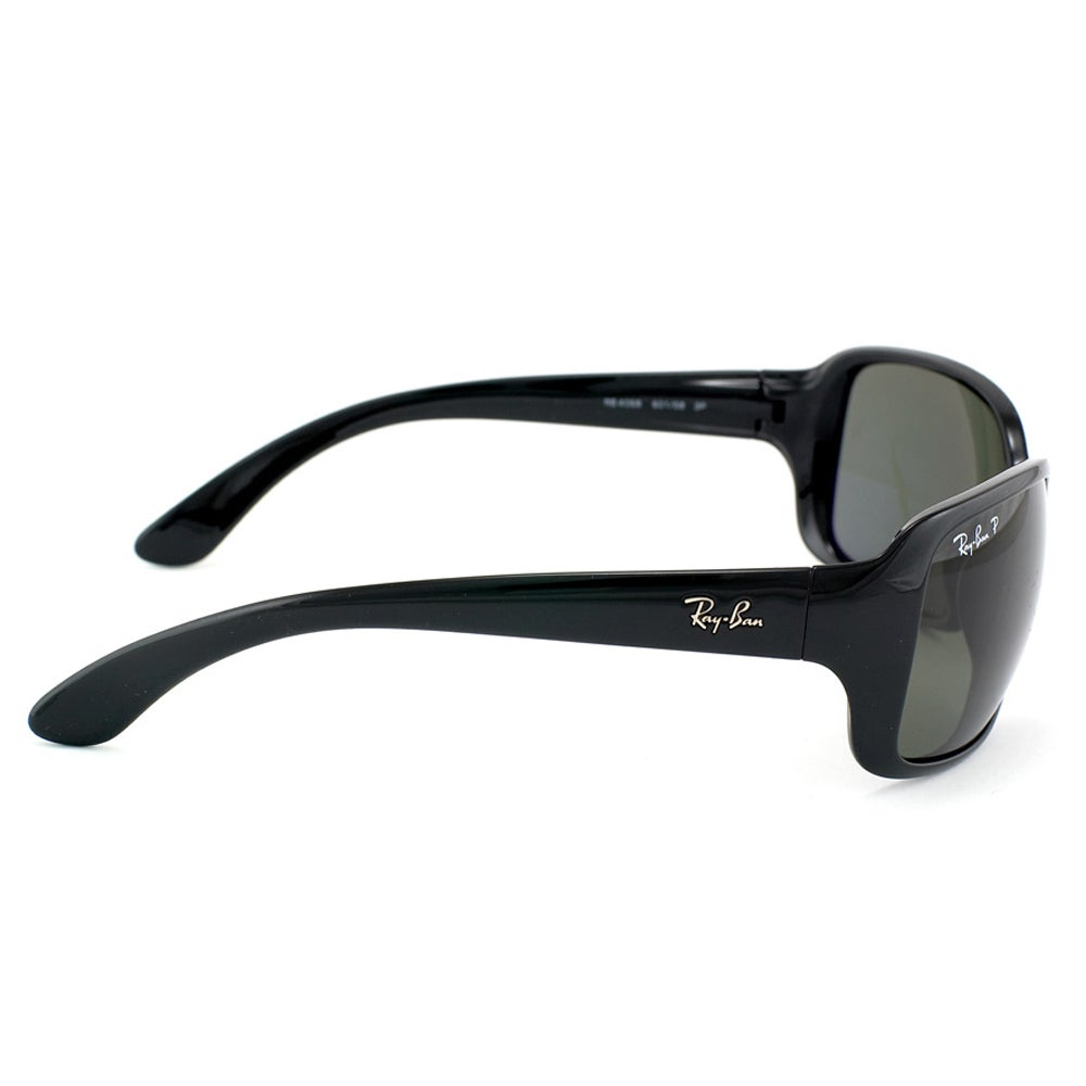 d5f22604adc Shop Ray-Ban RB4068 601 Black Frame Green Classic 60mm Lens Sunglasses -  Ships To Canada - Overstock.ca - 14431336