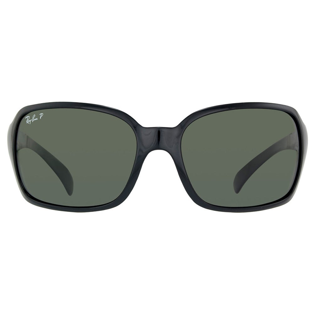 cda3fdd7c1 Shop Ray-Ban RB4068 601 Black Frame Green Classic 60mm Lens Sunglasses -  Free Shipping Today - Overstock - 14431336