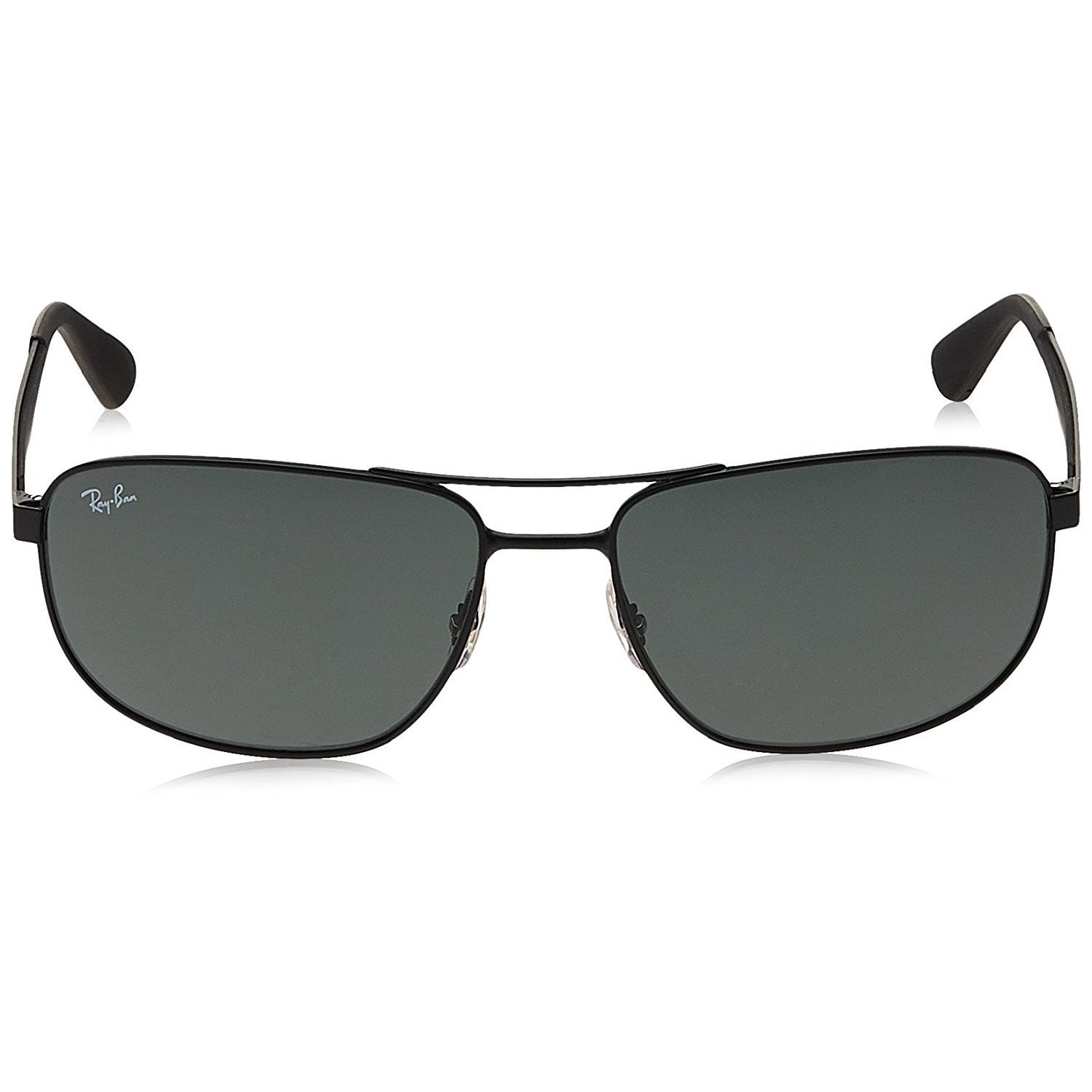 e7f6b81442a78 Shop Ray-Ban RB3528 006 71 Black Frame Green Classic 61mm Lens Sunglasses -  Free Shipping Today - Overstock - 14431344