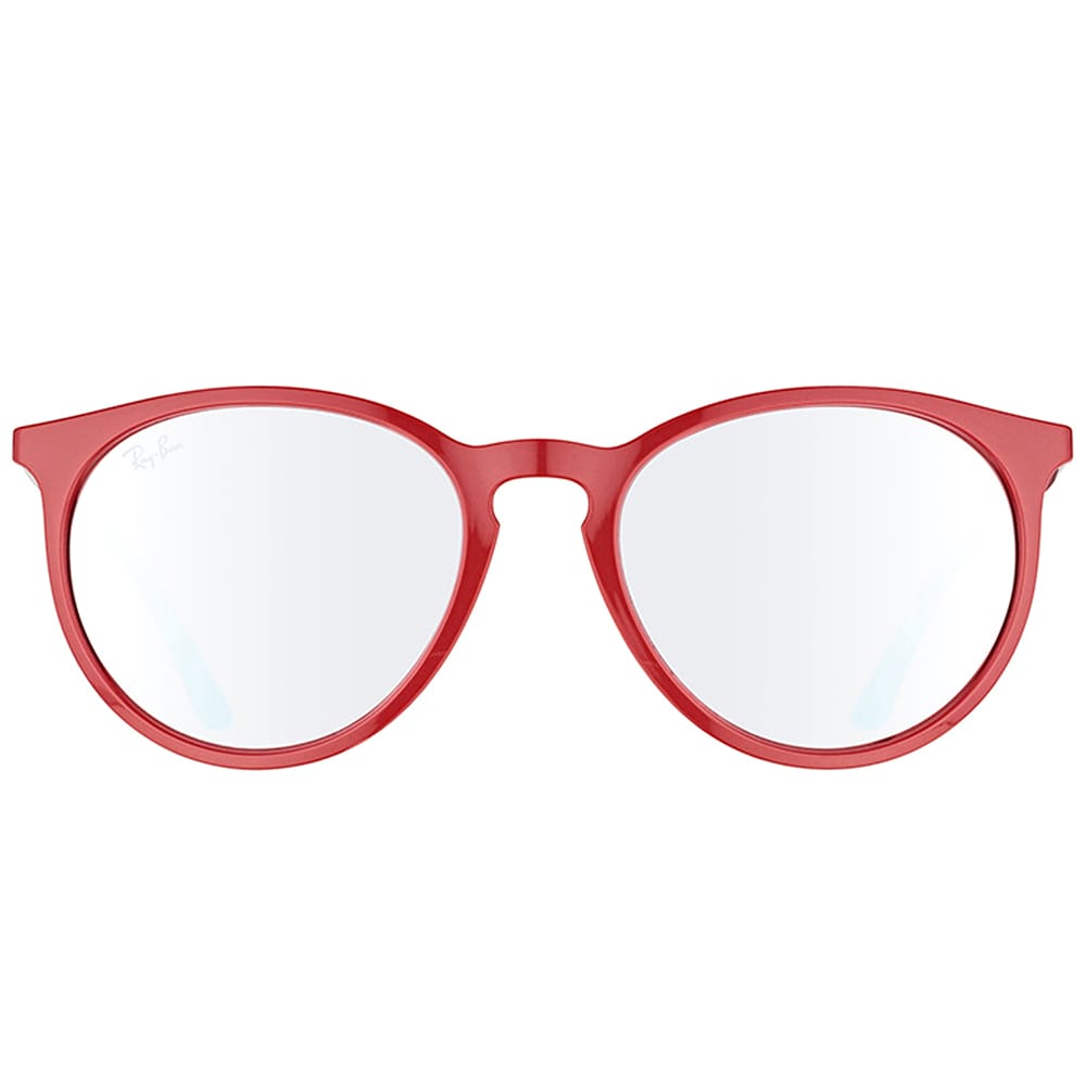 b03e95b45f Ray-Ban RB 4274 6261B5 Bordo  Plastic Round Sunglasses with Pink Silver  Mirror Lens