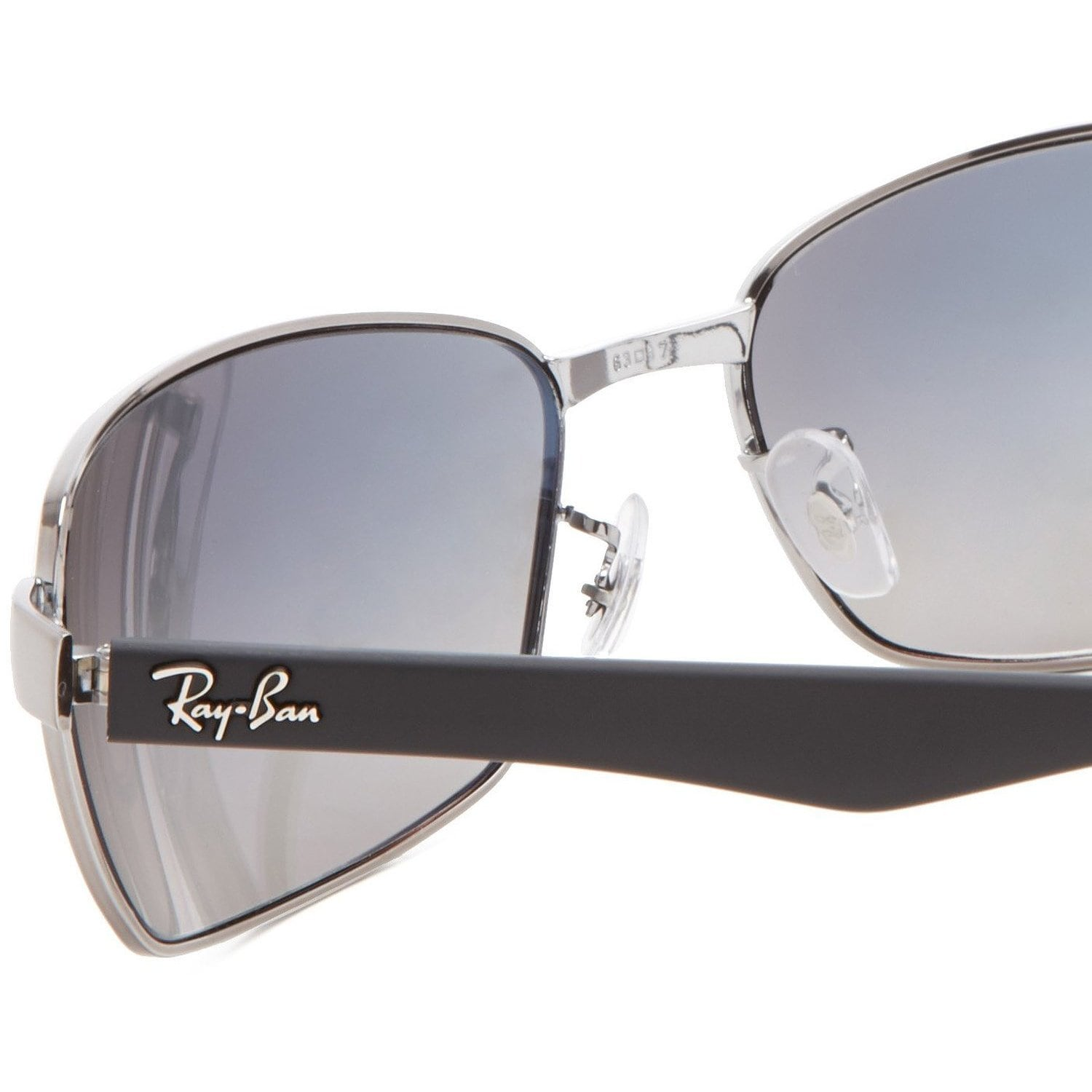 339d6e316ae Shop Ray-Ban RB3478 004 78 Gunmetal Black Frame Polarized Blue Grey Gradient  63mm Lens Sunglasses - Free Shipping Today - Overstock - 14442251