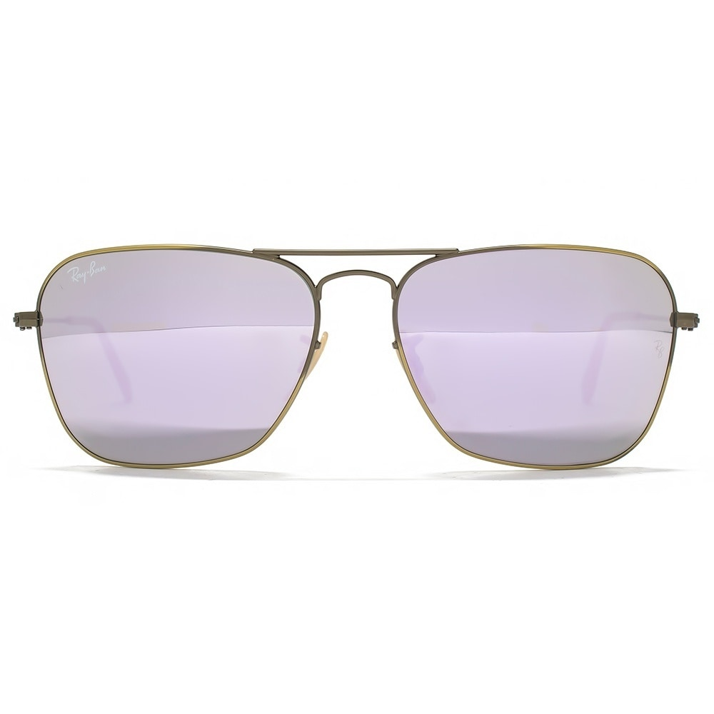 01baa9ea7e4 Shop Ray-Ban RB3136 167 4K Caravan Bronze-Copper Frame Lilac Mirror 58mm  Lens Sunglasses - Free Shipping Today - Overstock - 14442263