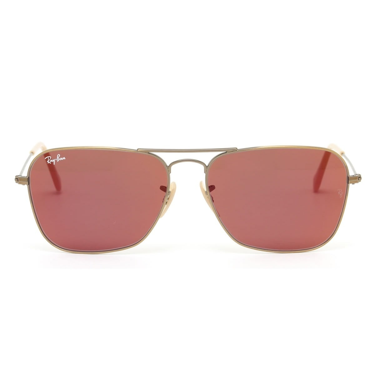 9aa2194aab Shop Ray-Ban RB3136 167 2K Bronze Copper Frame Red Mirror 58mm Lens  Sunglasses - Free Shipping Today - Overstock - 14442282