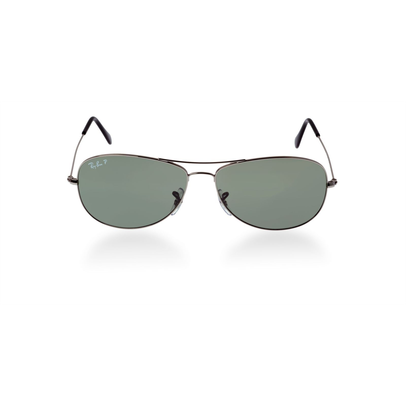 00bcfc52c279e9 Shop Ray-Ban RB3362 004 58 Cockpit Gunmetal Frame Polarized Green 59mm Lens  Sunglasses - Free Shipping Today - Overstock - 14442284