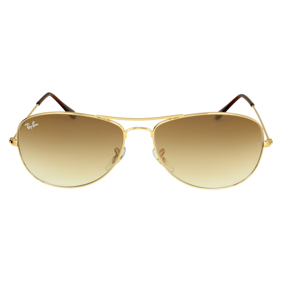 db6de625edc5f Shop Ray-Ban RB3362 001 51 Cockpit Gold Frame Light Brown Gradient 59mm  Lens Sunglasses - Free Shipping Today - Overstock - 14442334