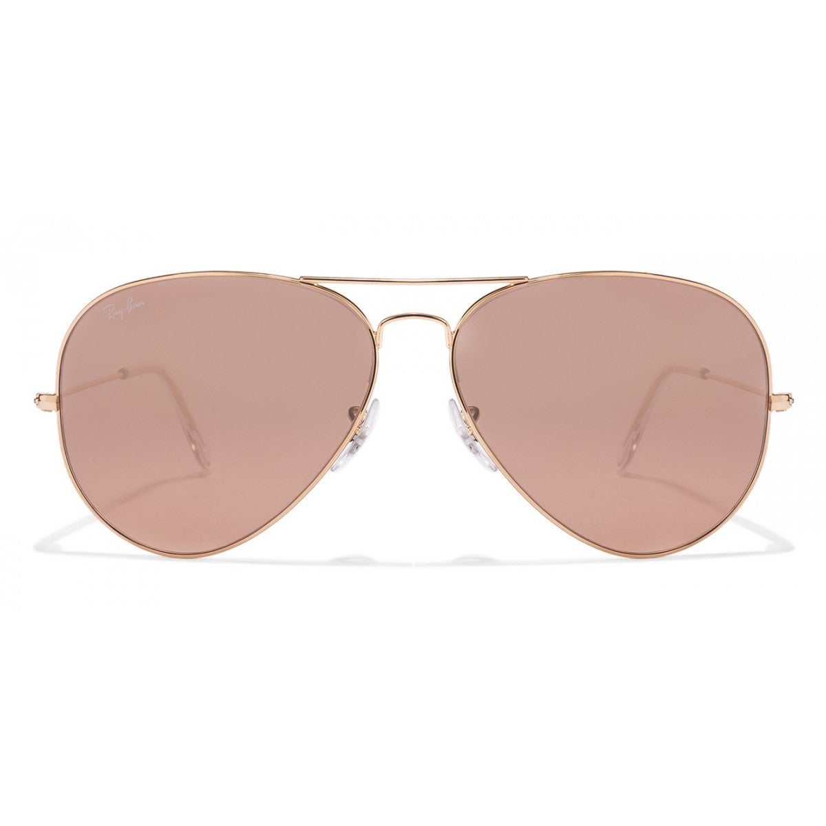 59ce9ed7cd Shop Ray-Ban RB3025 001 3E Aviator Gradient Gold Frame Silver Pink Mirror  62mm Lens Sunglasses - Free Shipping Today - Overstock - 14442344