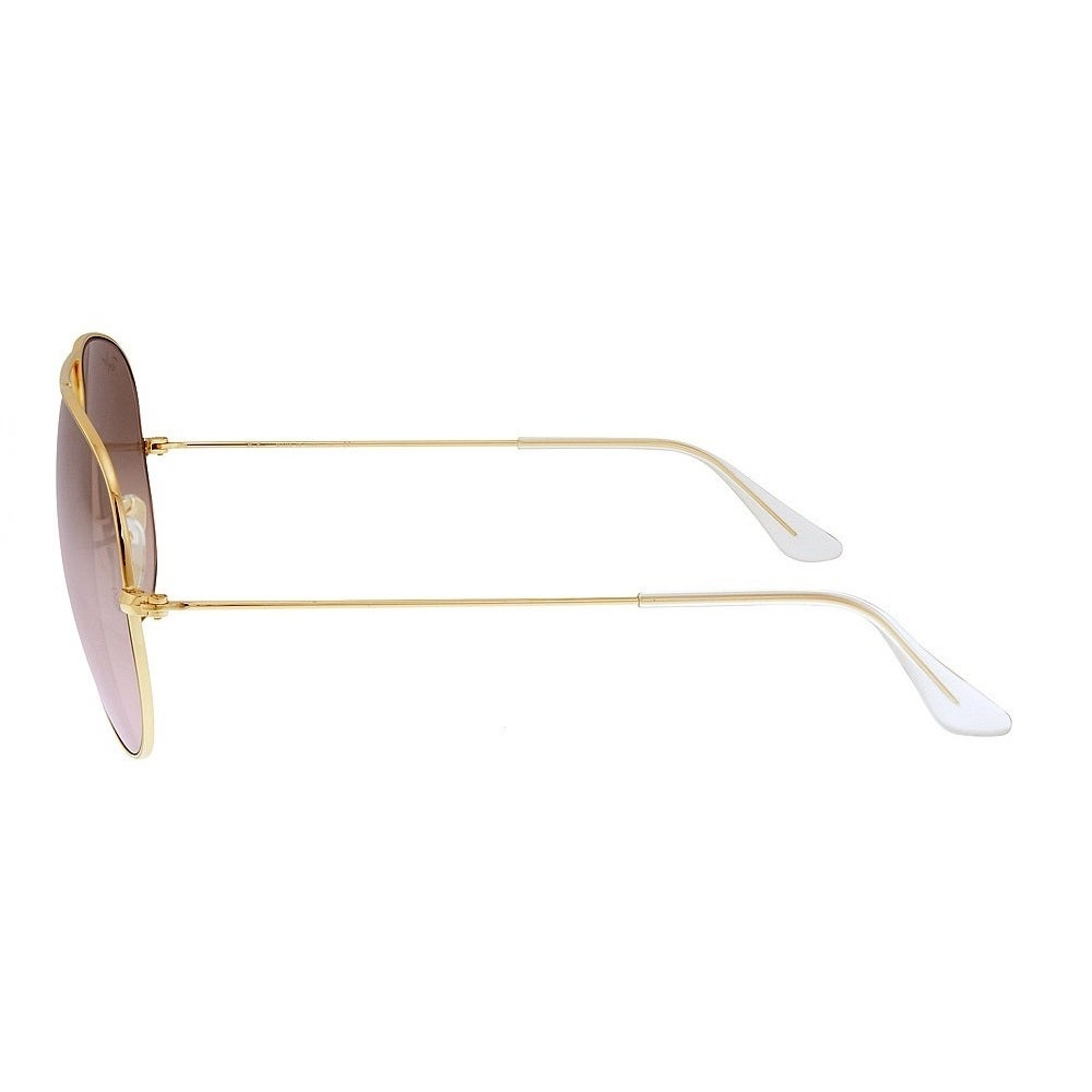 b5fbe3d120d6c2 Shop Ray-Ban RB3025 001 3E Aviator Gradient Gold Frame Silver Pink Mirror  62mm Lens Sunglasses - Free Shipping Today - Overstock.com - 14442344