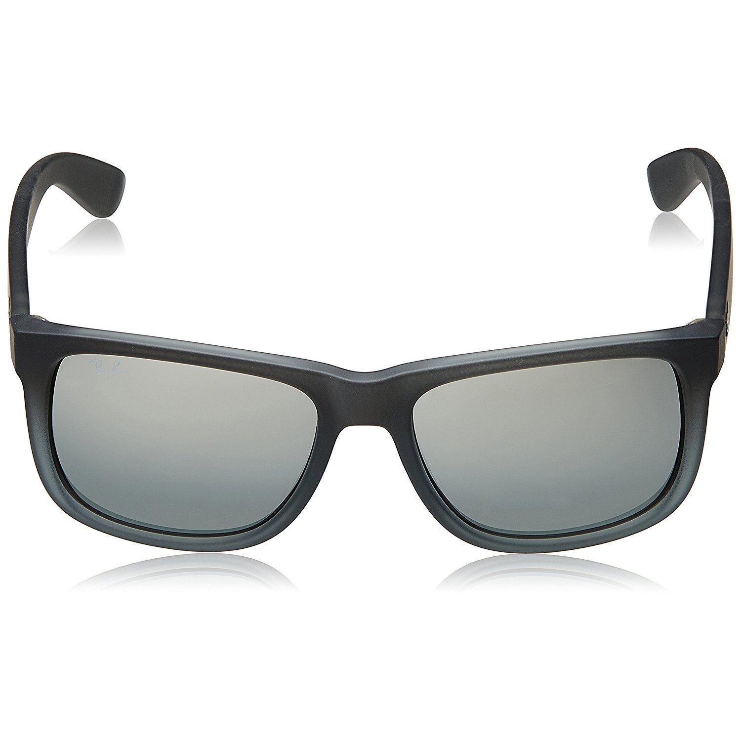 22eebb5b05 Shop Ray-Ban RB4165 852 88 Justin Classic Grey Frame Silver Gradient Mirror  55mm Lens Sunglasses - Ships To Canada - Overstock.ca - 14442361