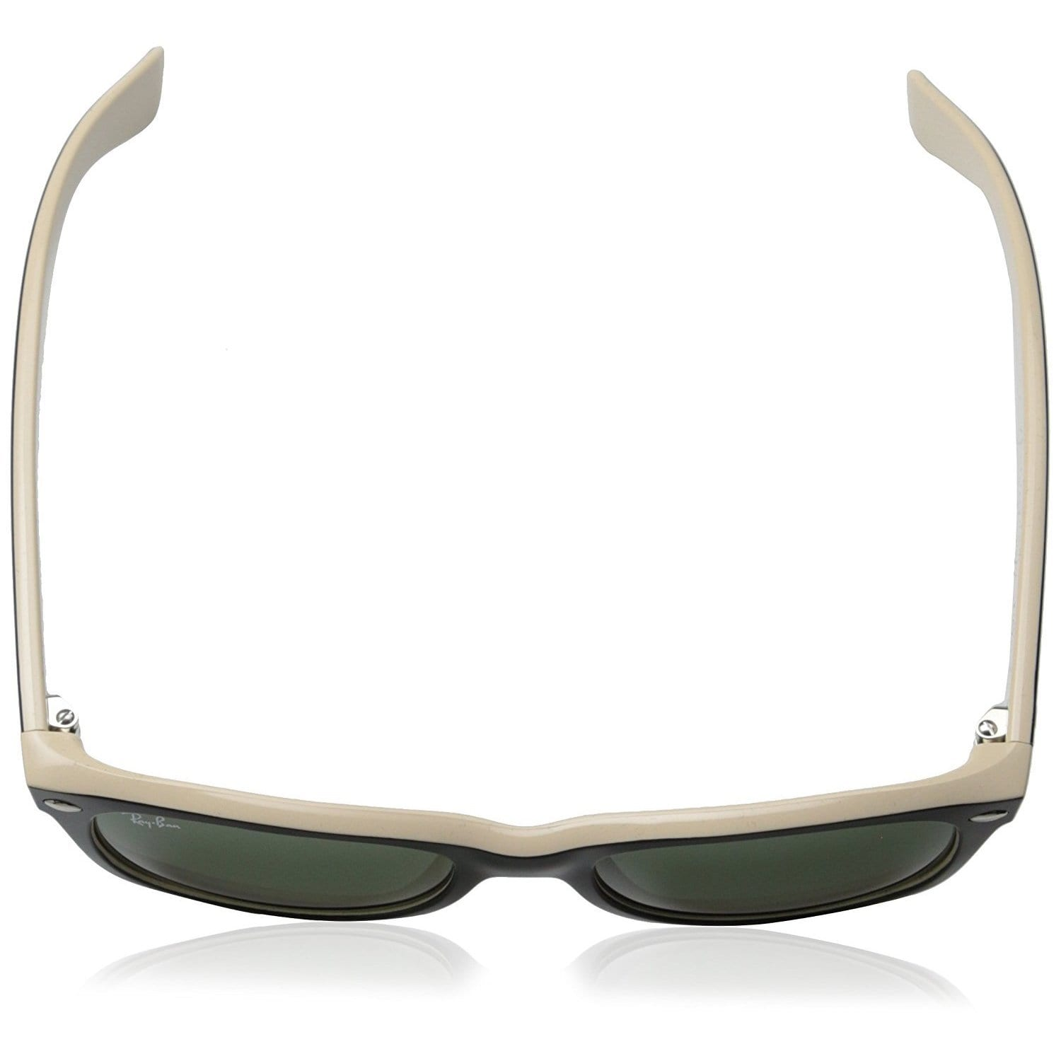 Shop Ray-Ban RB2132 875 New Wayfarer Color Mix Black Light Brown Frame  Green Classic 55mm Lens Sunglasses - Free Shipping Today - Overstock -  14442378 8a7bef98b66