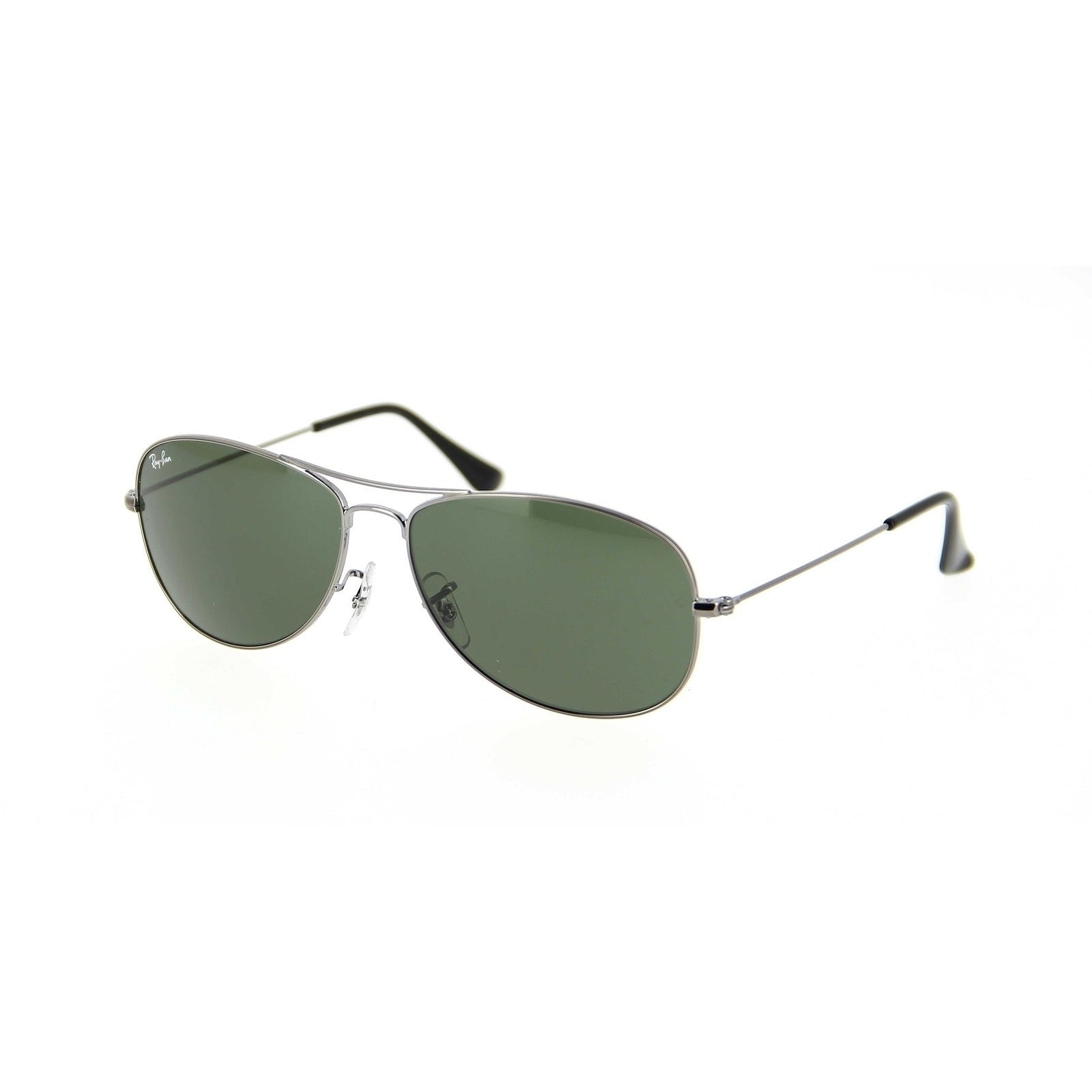 d4819ea1167 Ray-Ban RB3362 004 Cockpit Gunmetal Frame Green Classic 59mm Lens Sunglasses