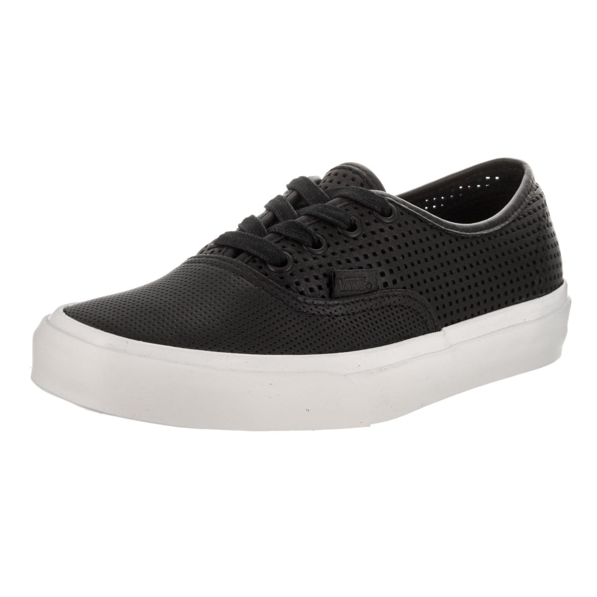 f89e15e4a5 Shop Vans Unisex Authentic Dx Square Perferated Skate Shoes - Free ...