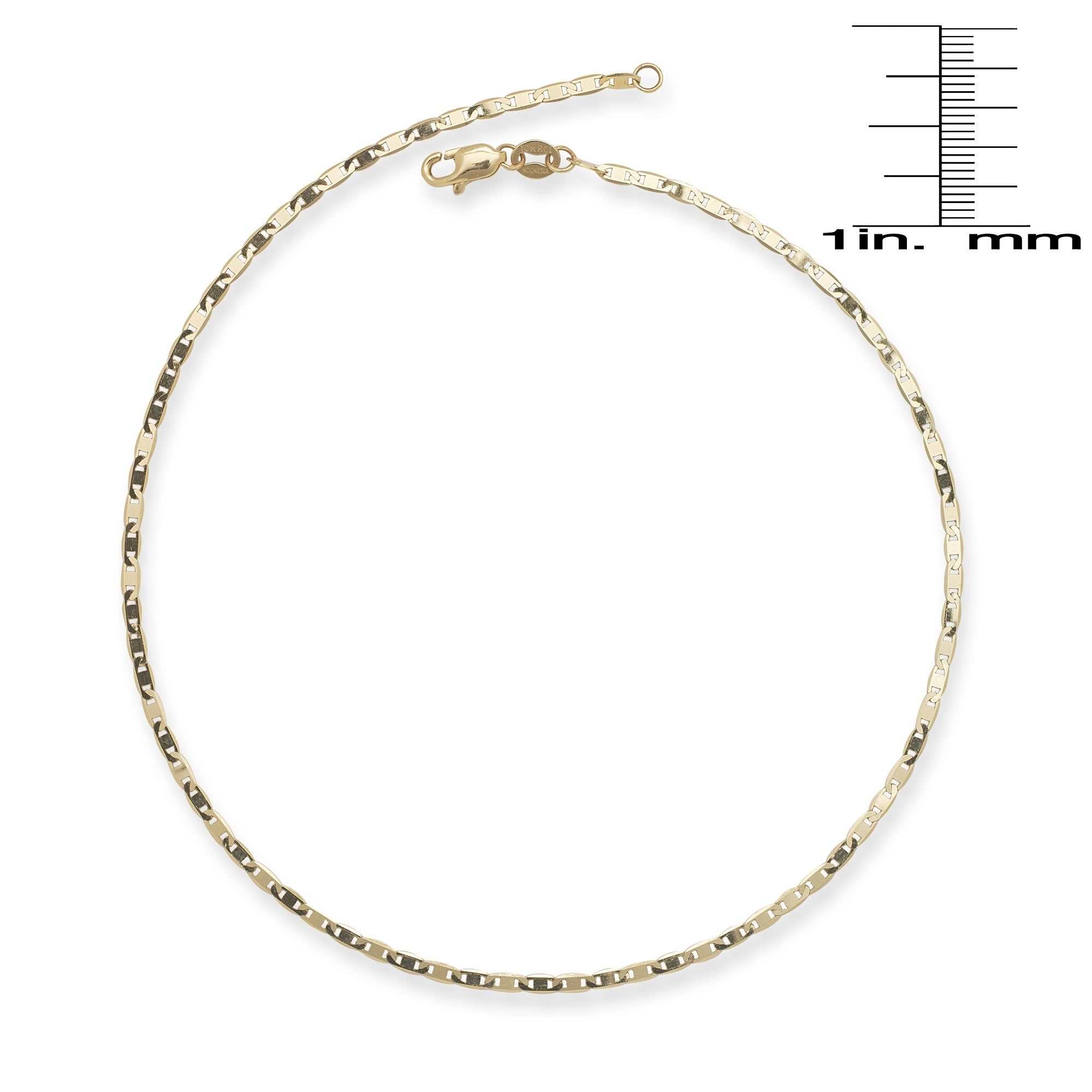 c b chain and rope diamond anklet cut rose itm bracelet main gold solid rdcl fine