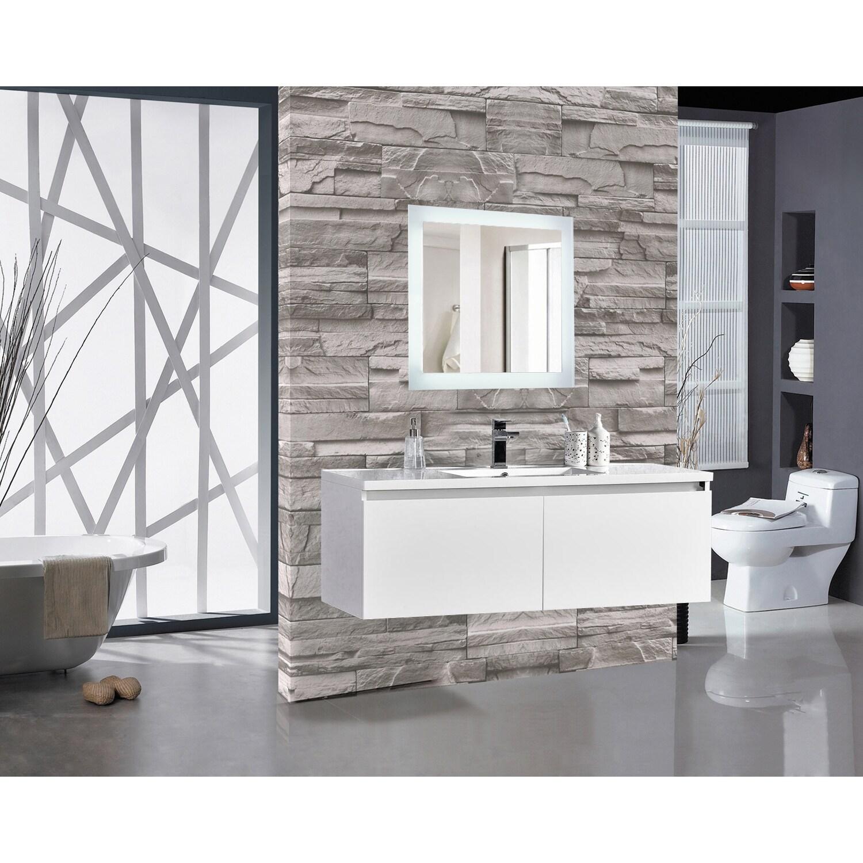 Encore Led Illuminated Bathroom Mirror Free Shipping Today 14448932