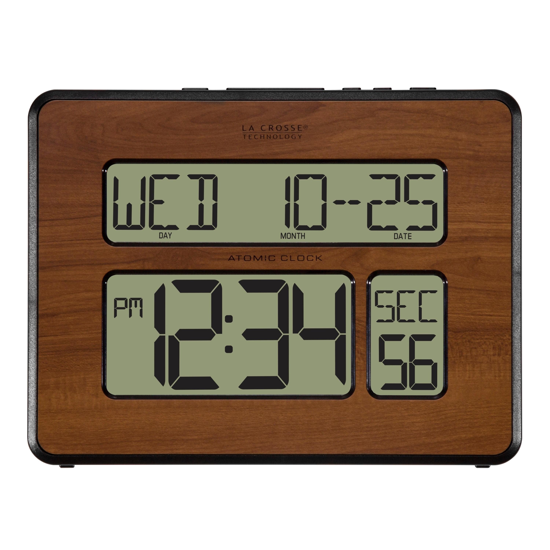 Shop La Crosse Technology 513-1419-WA Atomic Full Calendar Digital ...