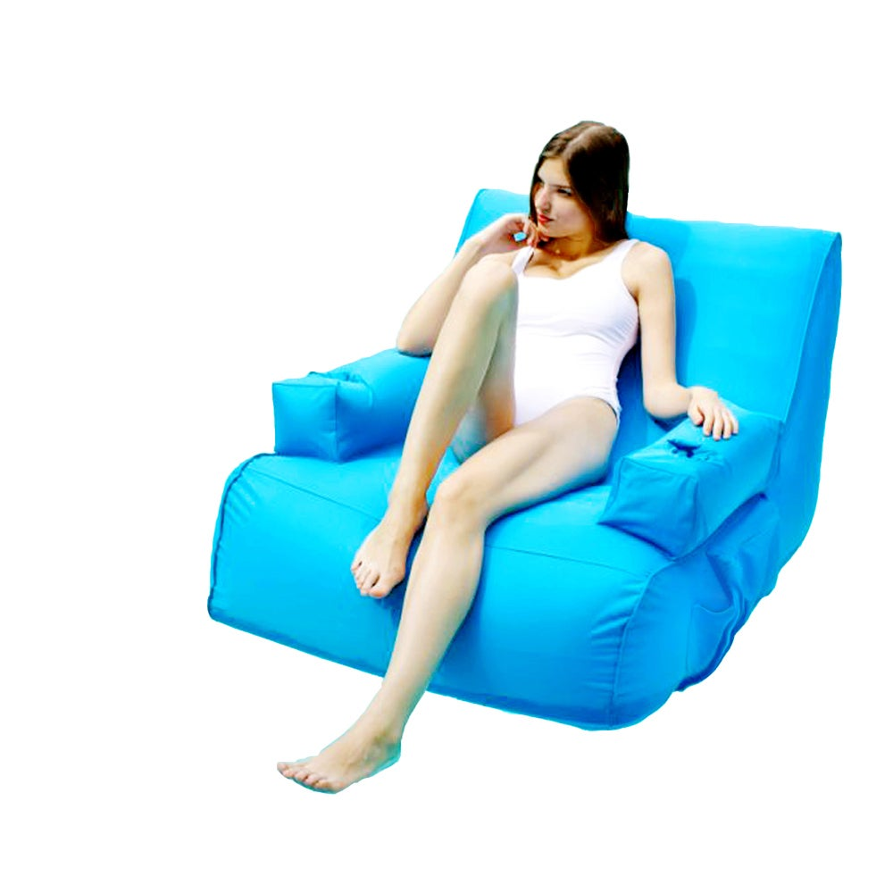 inflatable lounge furniture. OVE Decors Miami Inflatable Lounge Pool Float (blue) - Free Shipping Today Overstock 21019660 Furniture E