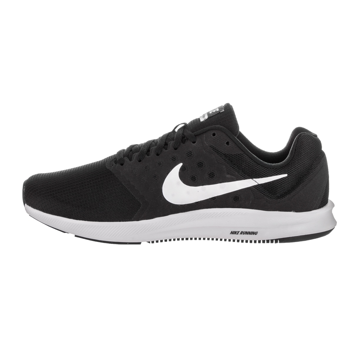 96f5faee0c968 Shop Nike Men s Downshifter 7 Black Running Shoes - Free Shipping Today -  Overstock - 14457947