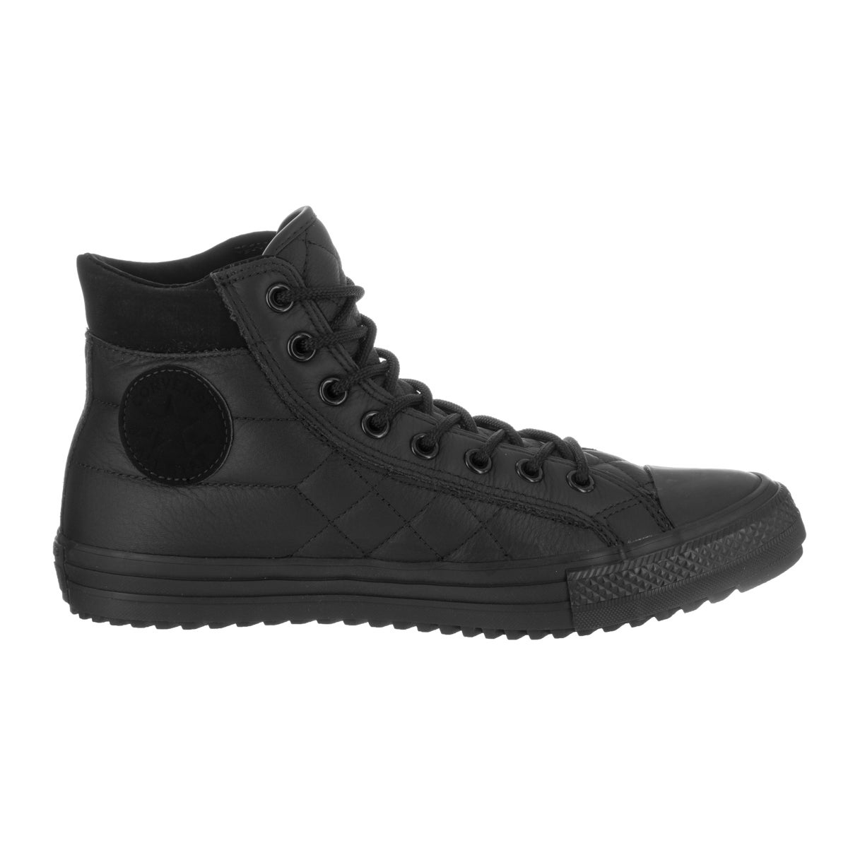f4642ea59cea Shop Converse Unisex Chuck Taylor All Star Boot Pc Hi Black Leather Casual  Shoes - Free Shipping Today - Overstock - 14458000
