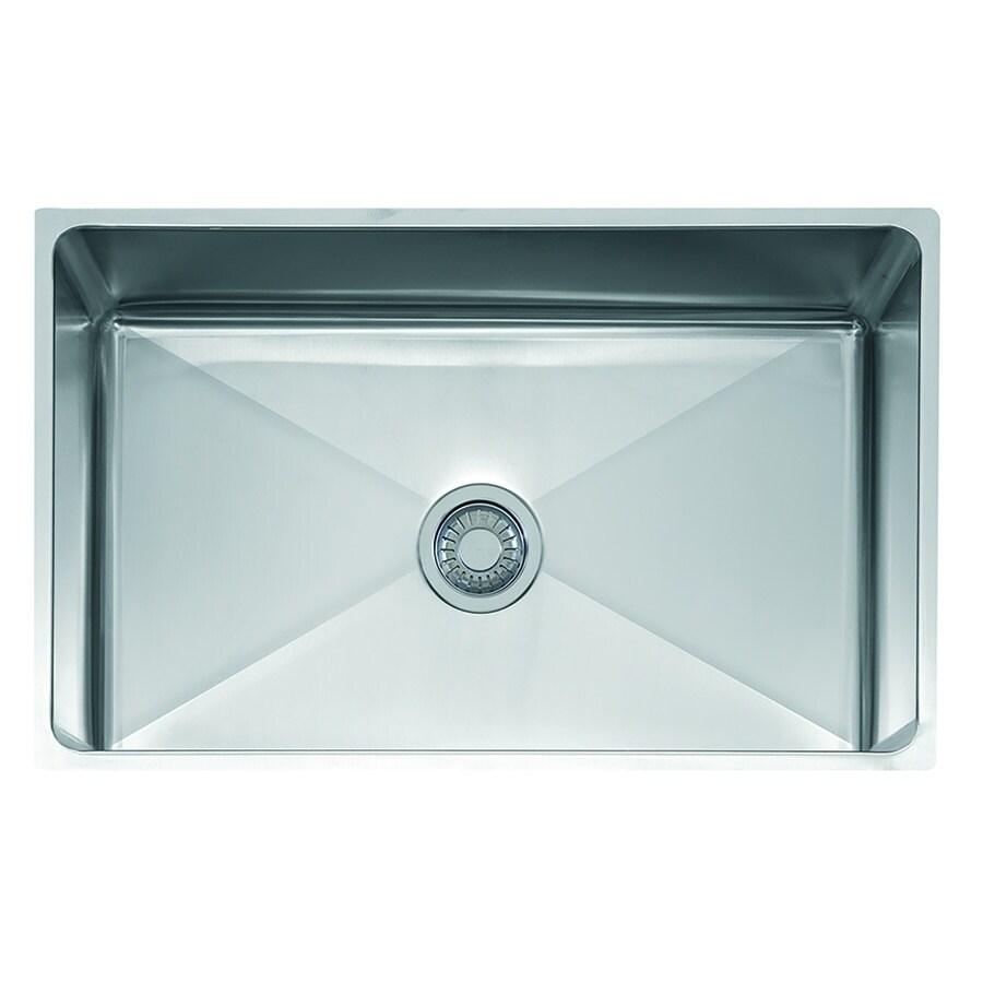 Shop Franke Professional Series Undermount Steel Kitchen Sink ...