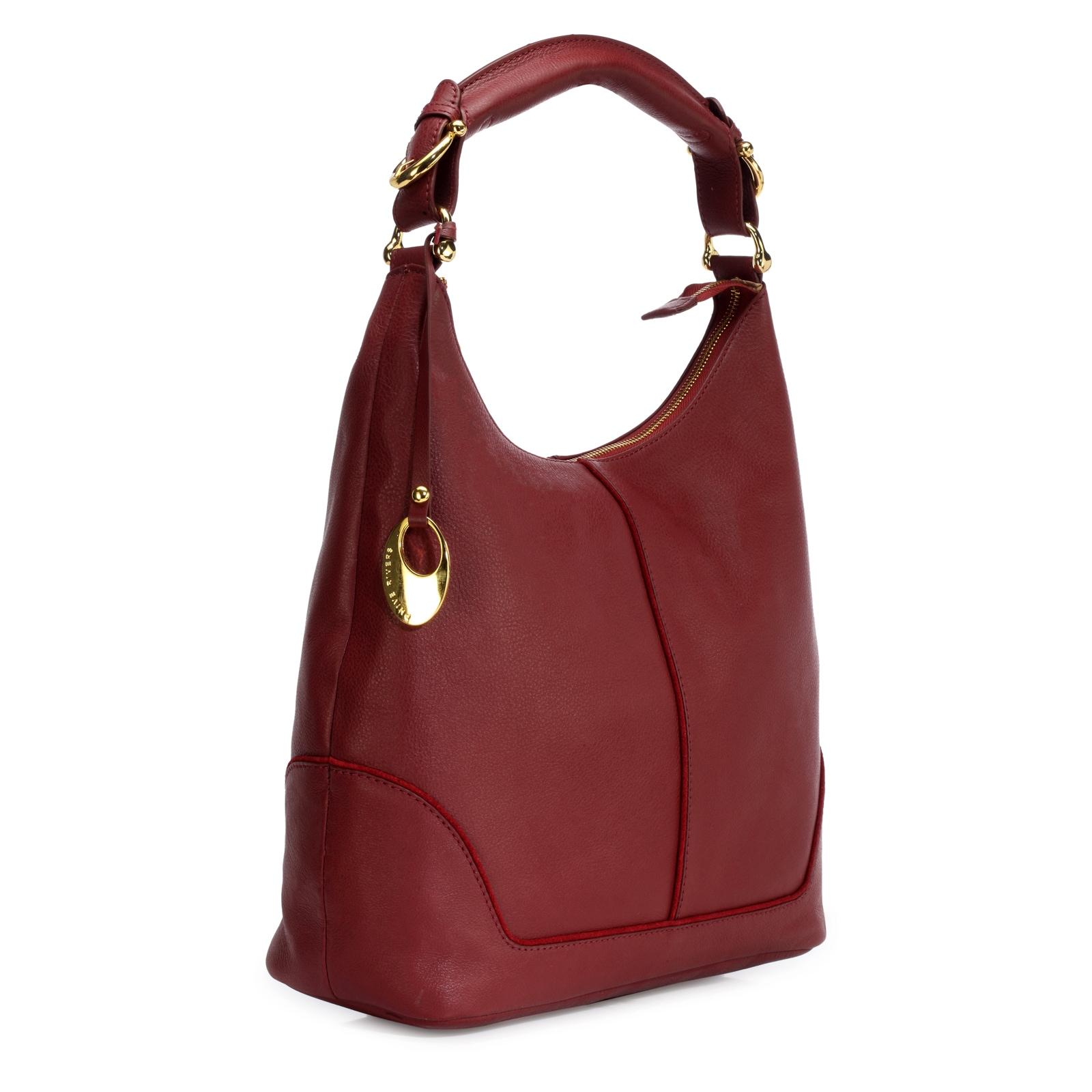 Shop Handmade Phive Rivers Women s Leather Hobo Bag (Red c994e0b956456