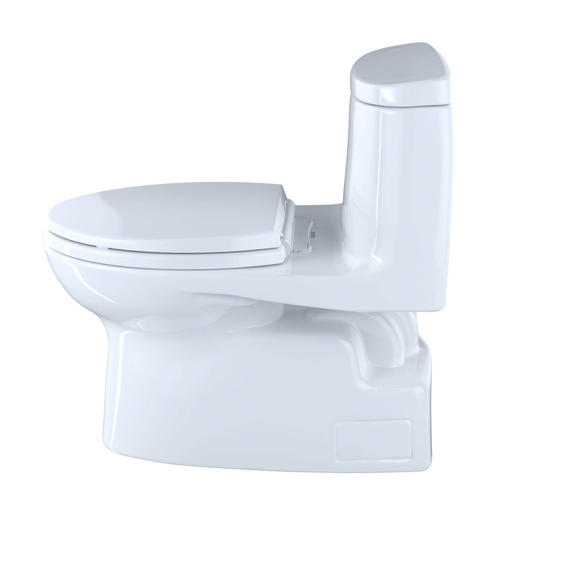 Shop Toto Carlyle II White 1-piece Elongated Toilet - Free Shipping ...
