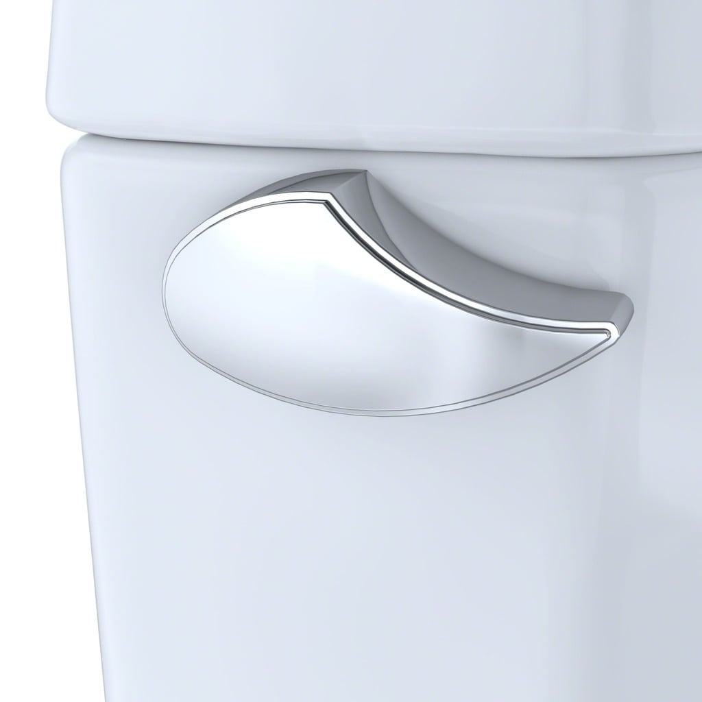 Shop Toto Drake II Two-Piece Round 1.28 GPF Universal Height Toilet ...