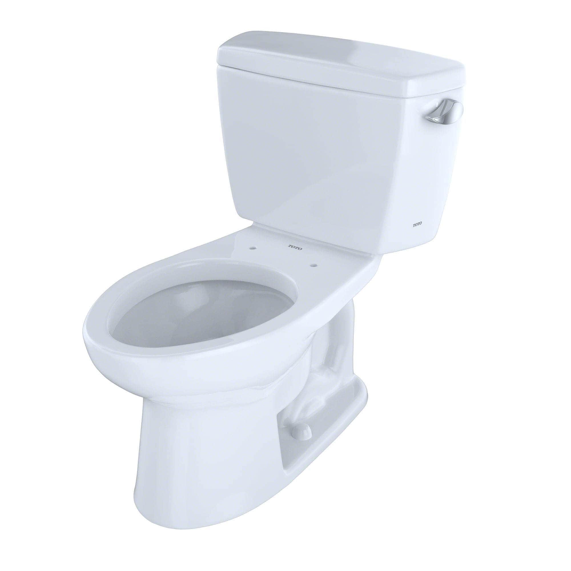 Toto Drake White China Elongated 2-piece Toilet - Free Shipping ...