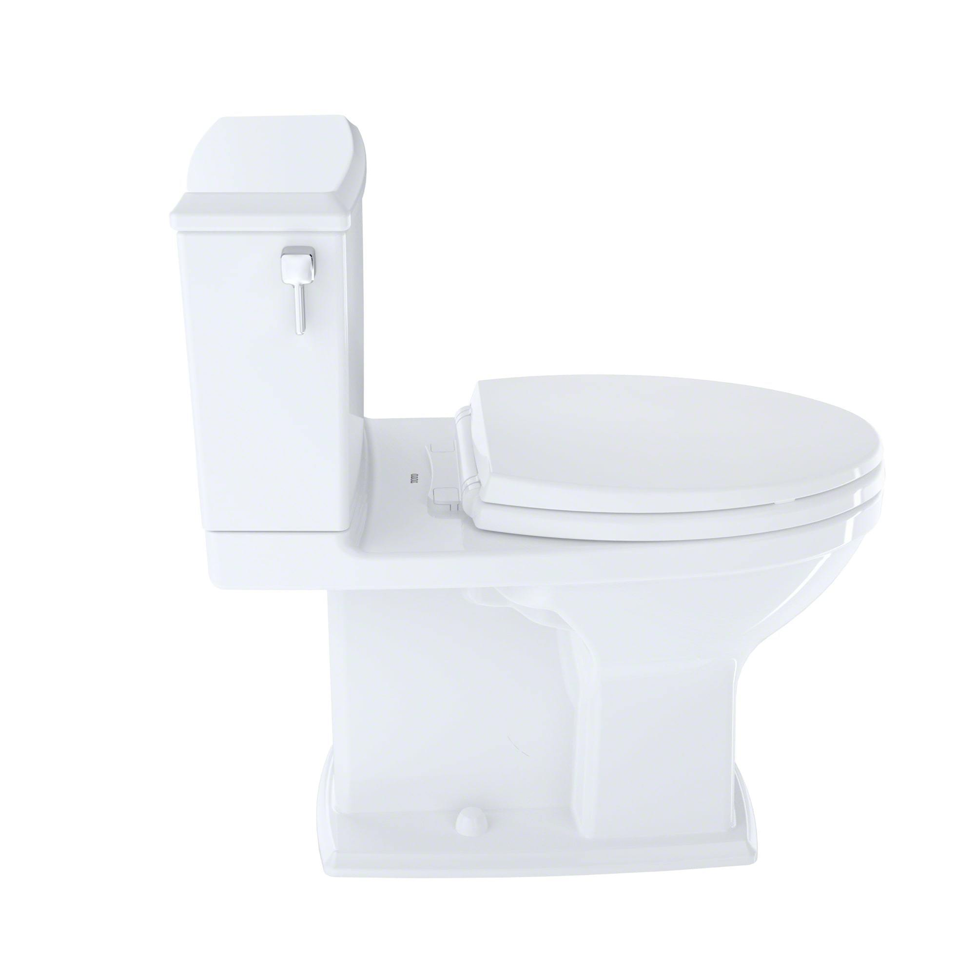 Toto Connelly White Elongated 2 Piece Toilet Free Shipping Today 14458502