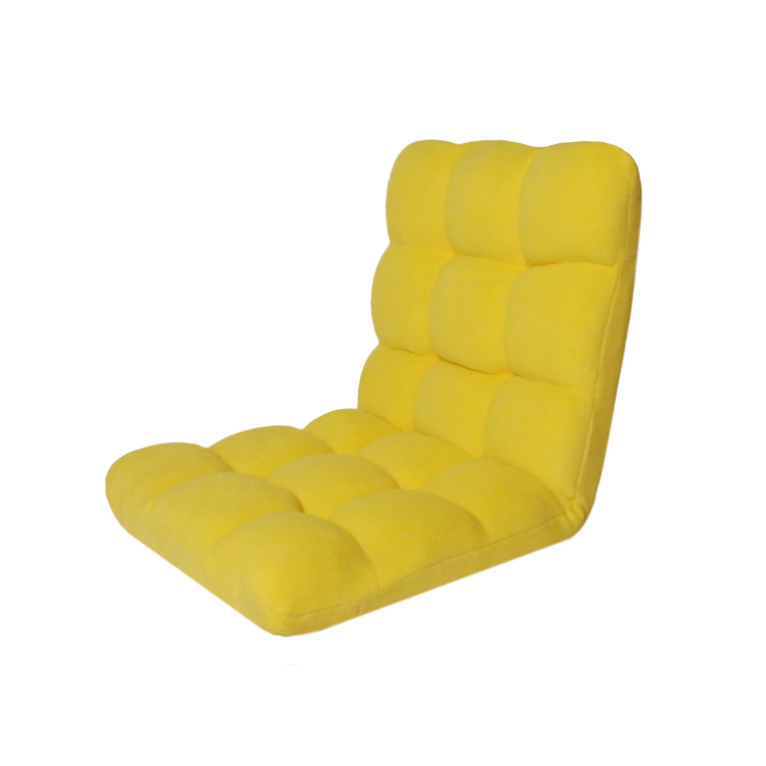 Exceptionnel Shop Chic Home Loungie Armless Quilted Recliner Chair, Yellow   On Sale    Free Shipping Today   Overstock.com   14465692