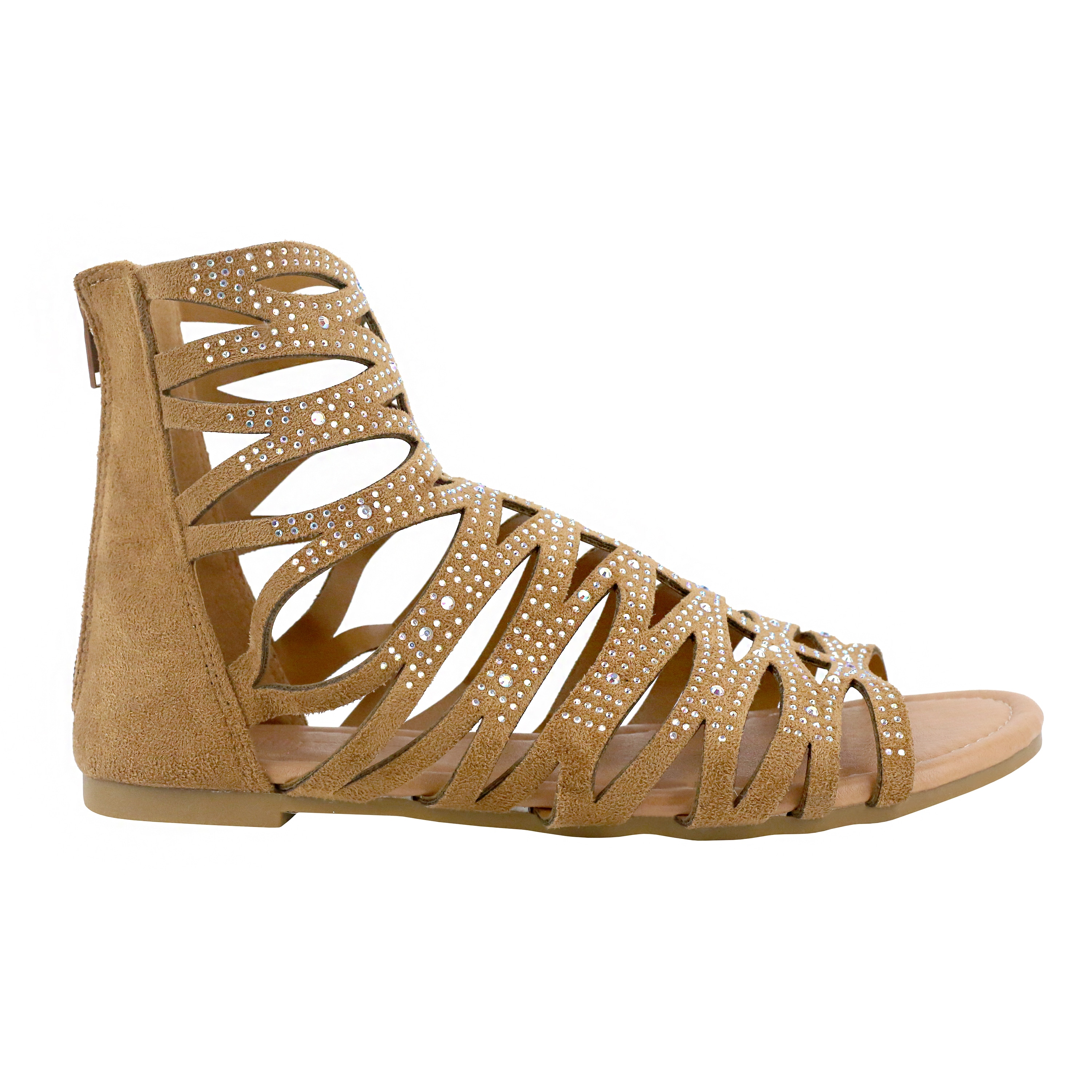 Olivia Miller Leela Women's ... Gladiator Sandals clearance online amazon UrBYxY9aW