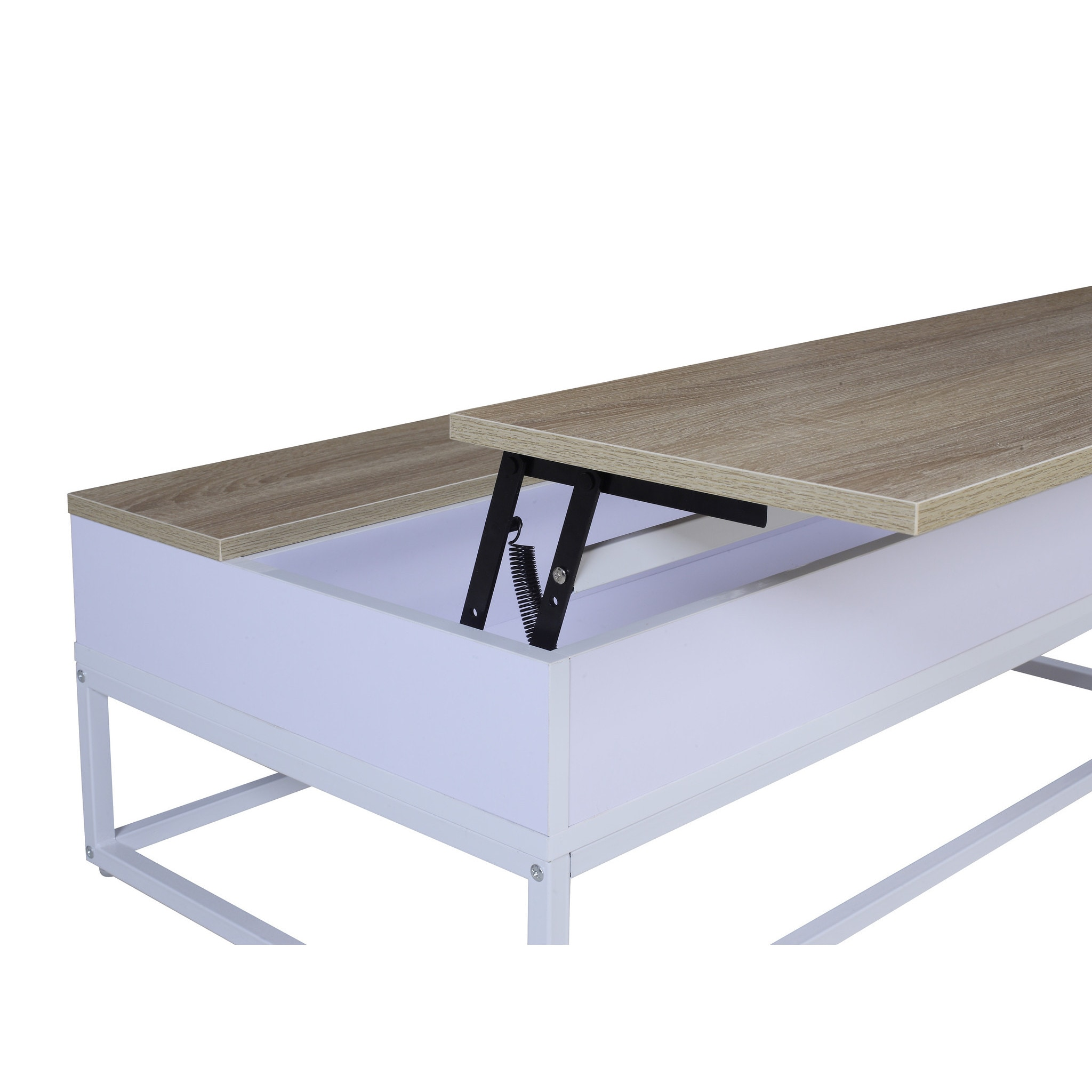 Modern and Simply Designed Lift Top Coffee Table Free Shipping