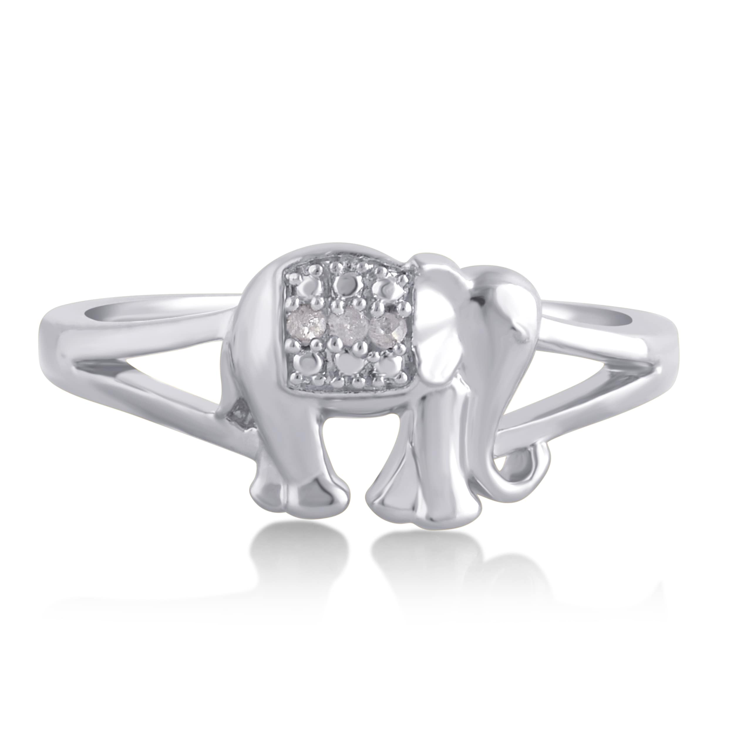enugu engagement airavata rings head ring silver yaanai product haathee elephant