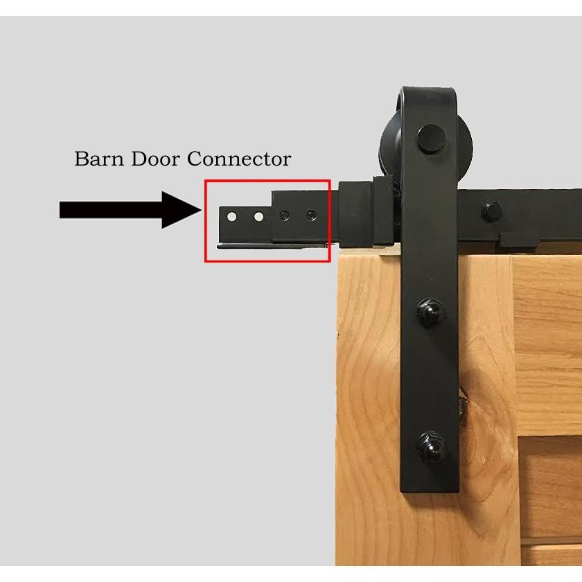 Shop Sure Loc Flat Black Barn Door Hardware On Sale Free
