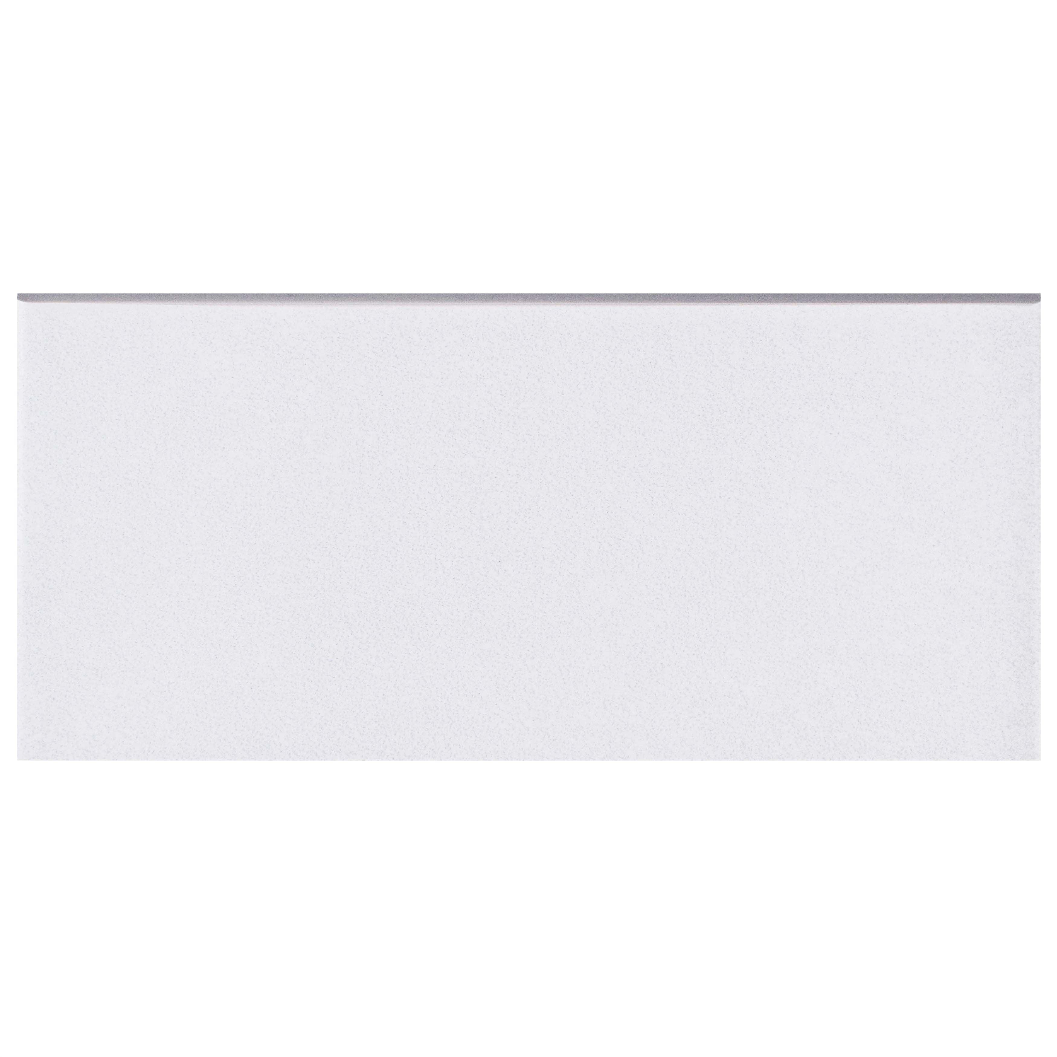Shop SomerTile 3.5x7.75-inch Thirties White Ceramic Bullnose Floor ...