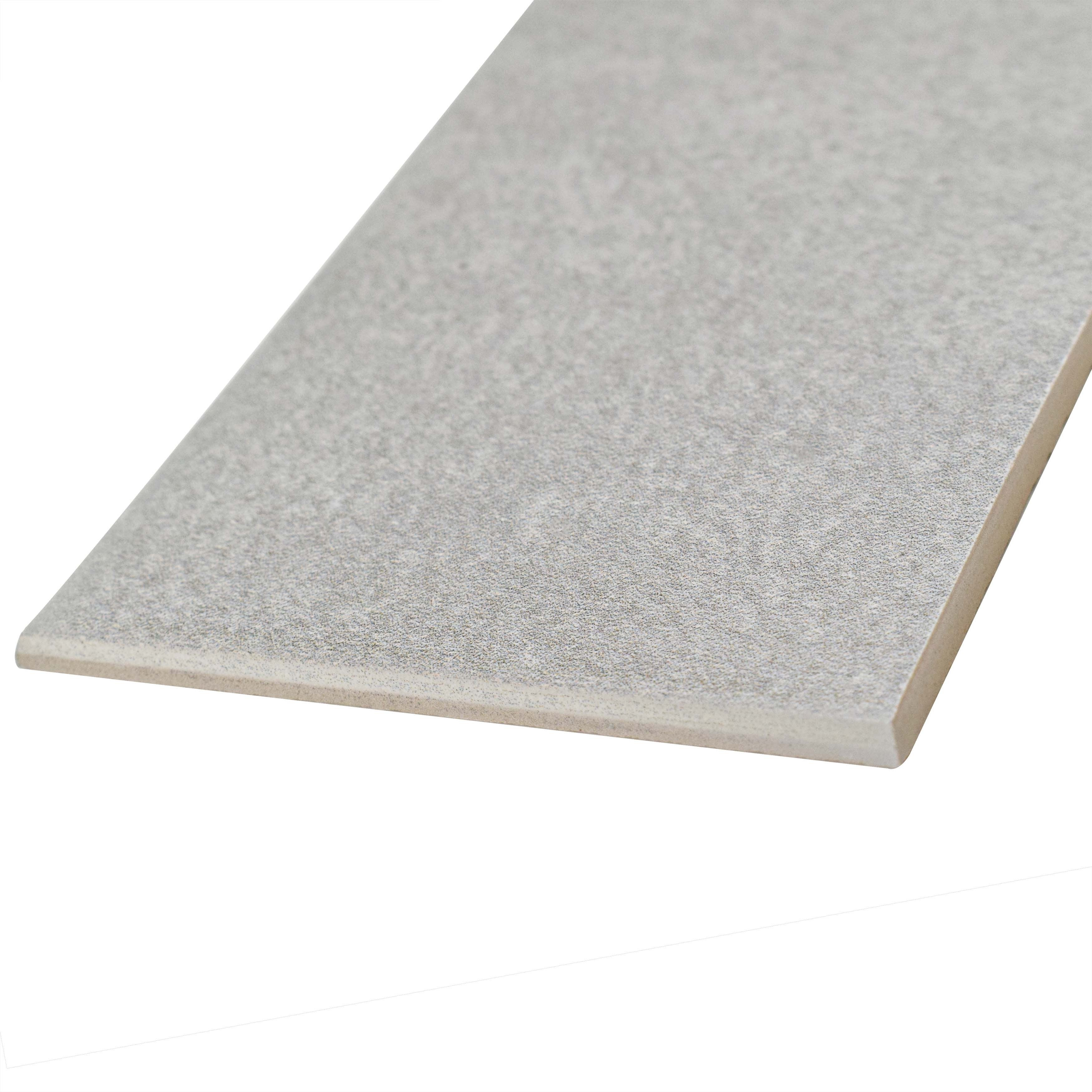Somertile 35x775 inch thirties grey ceramic bullnose floor and somertile 35x775 inch thirties grey ceramic bullnose floor and wall trim tile 5 tiles free shipping on orders over 45 overstock 21049693 dailygadgetfo Choice Image