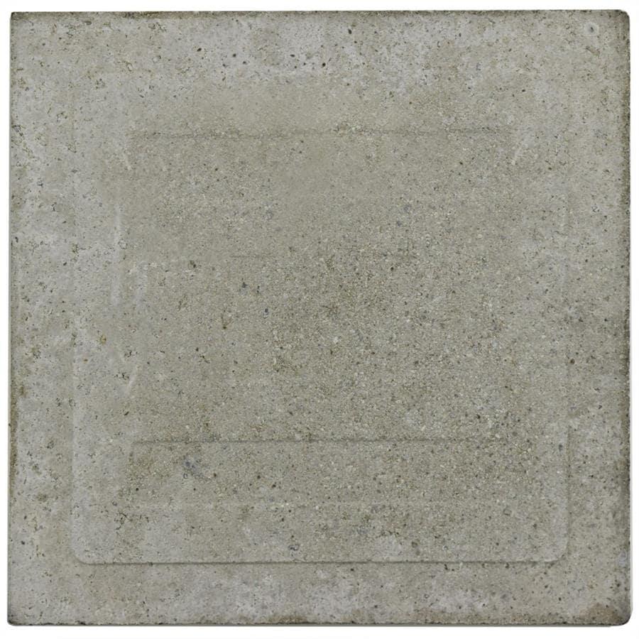 Shop Somertile 7875x7875 Inch Cement Queen Mary Sky Cement Floor