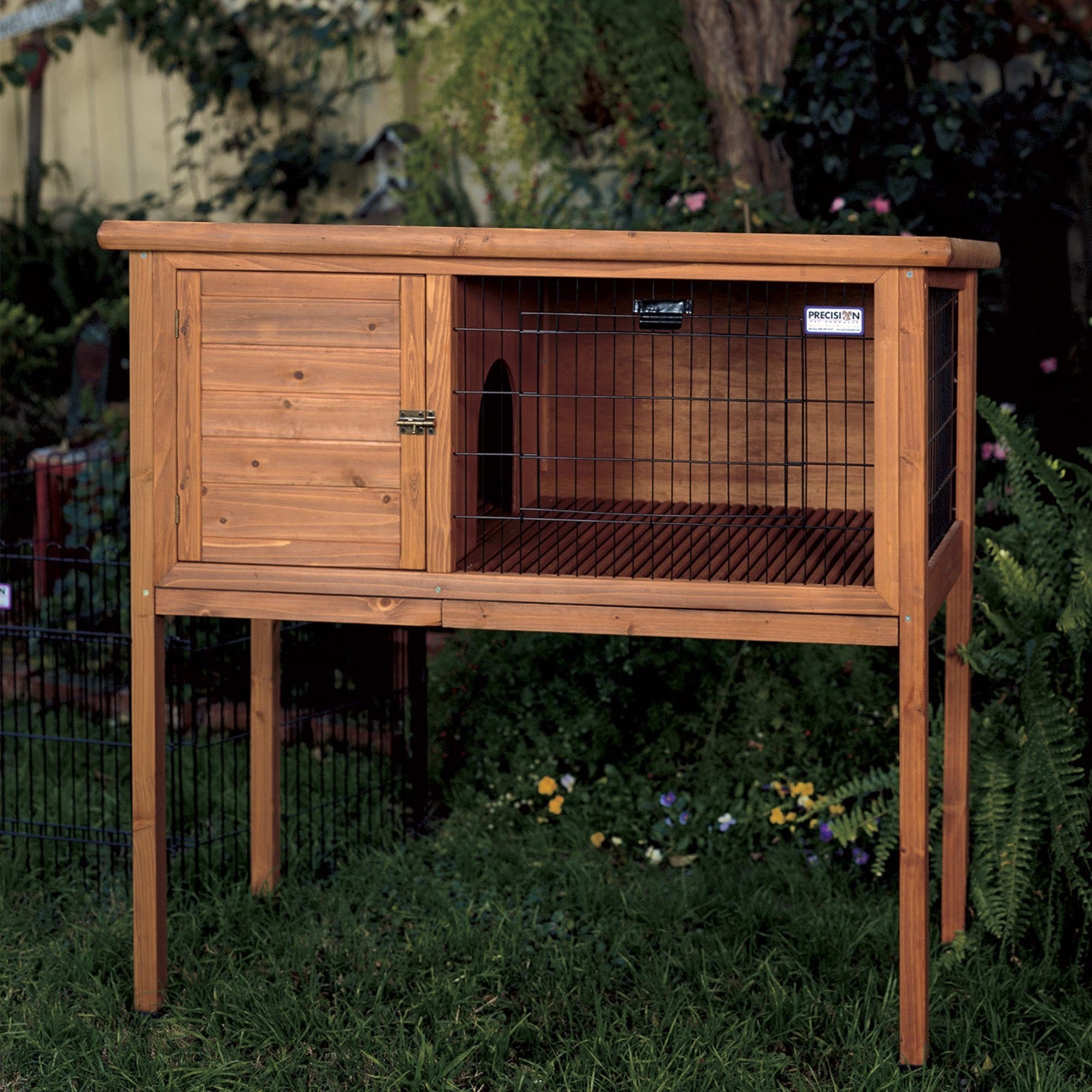 solid pictures how step outdoor hutch cage to rabbit build an steps wood with