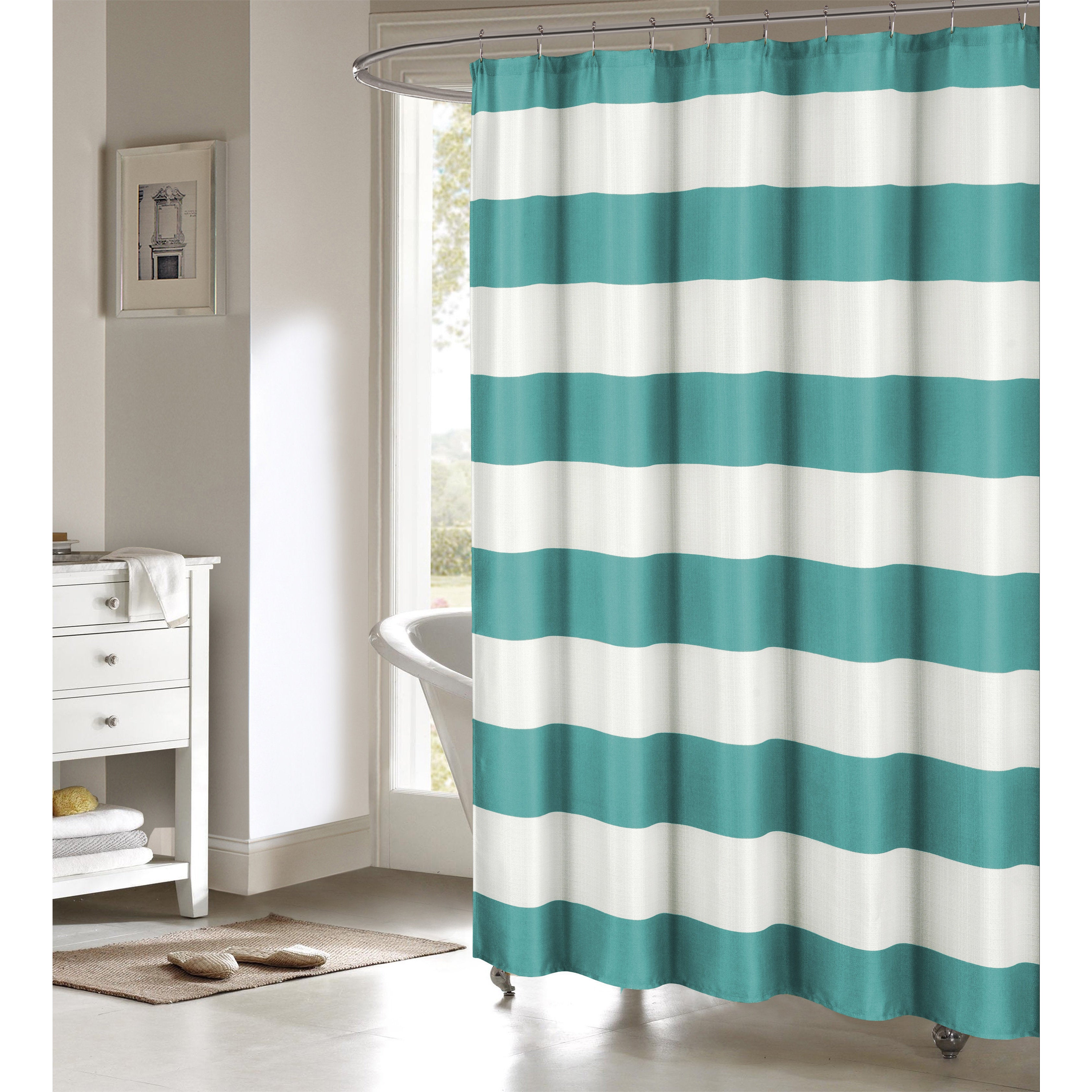 Toto Faux Linen Shower Curtain - Free Shipping On Orders Over $45 ...