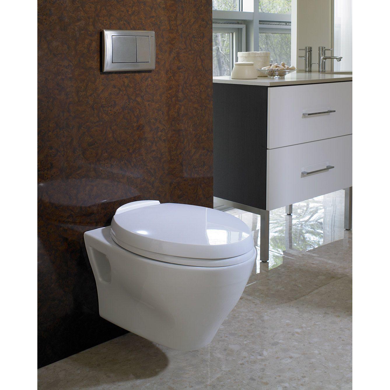 Toto Aquia Cotton White Vitreous China Elongated 1-piece Toilet ...