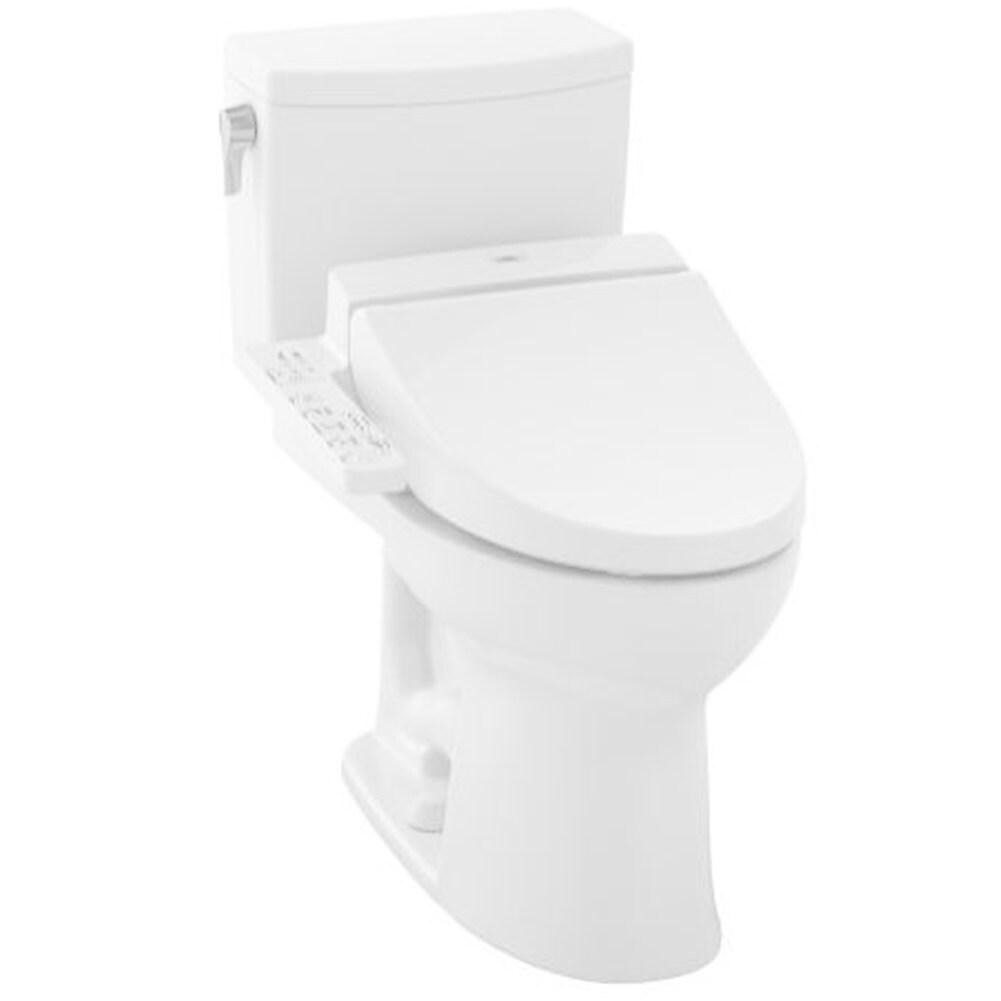 Shop Toto Drake Ii Toilet Bowl C454CUFGT20#01 Cotton White - Free ...