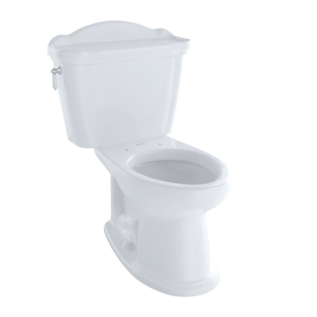 Shop Toto Whitney Elongated Two Piece Toilet CST754EFN#01 Cotton ...
