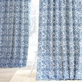 Exclusive Fabrics Catalina Cotton Printed Curtain Panel
