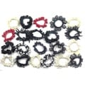 E.M.P. Fancy Hair Scrunchies (Case of 12)