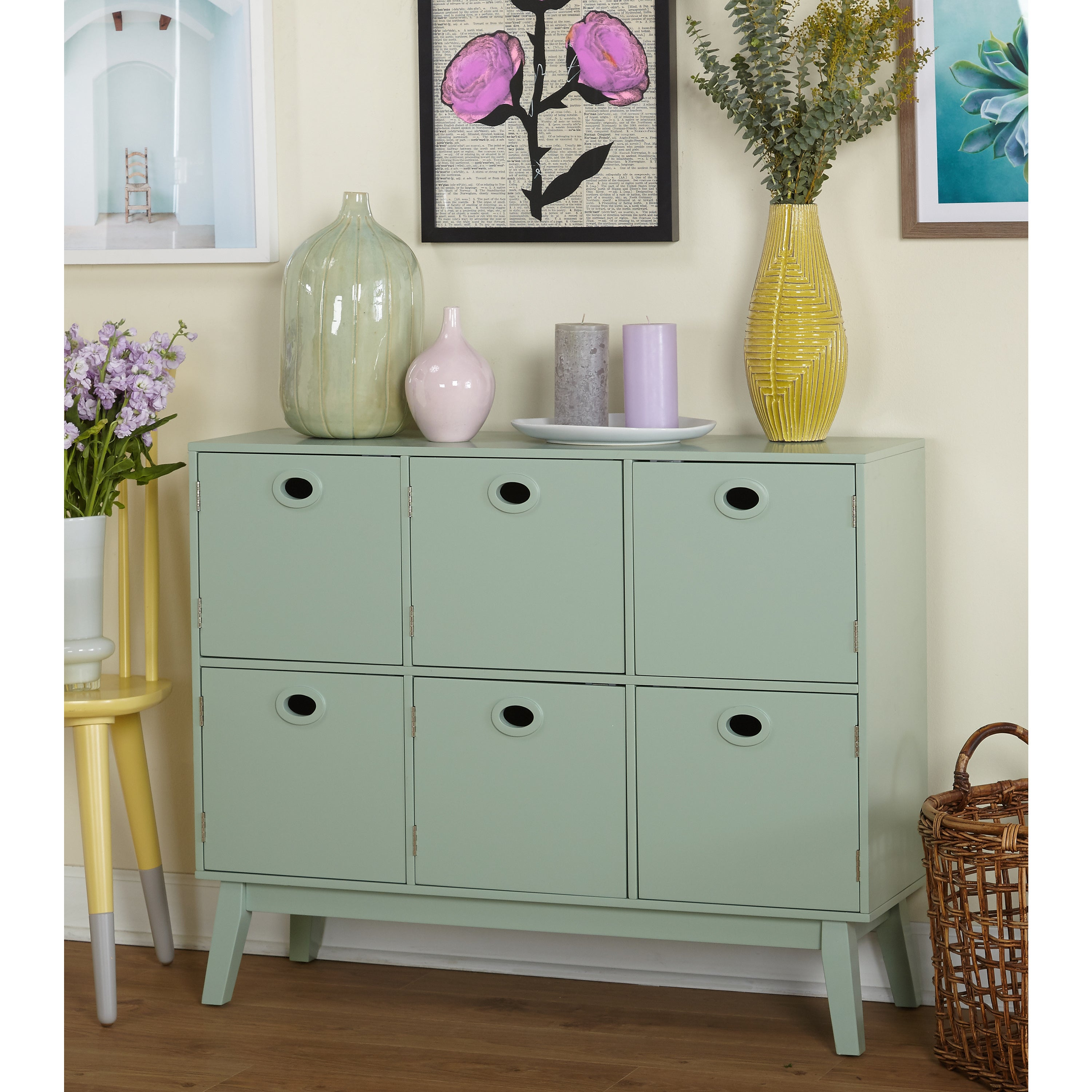 Shop Simple Living Jamie Storage Cabinet Sale Free Shipping