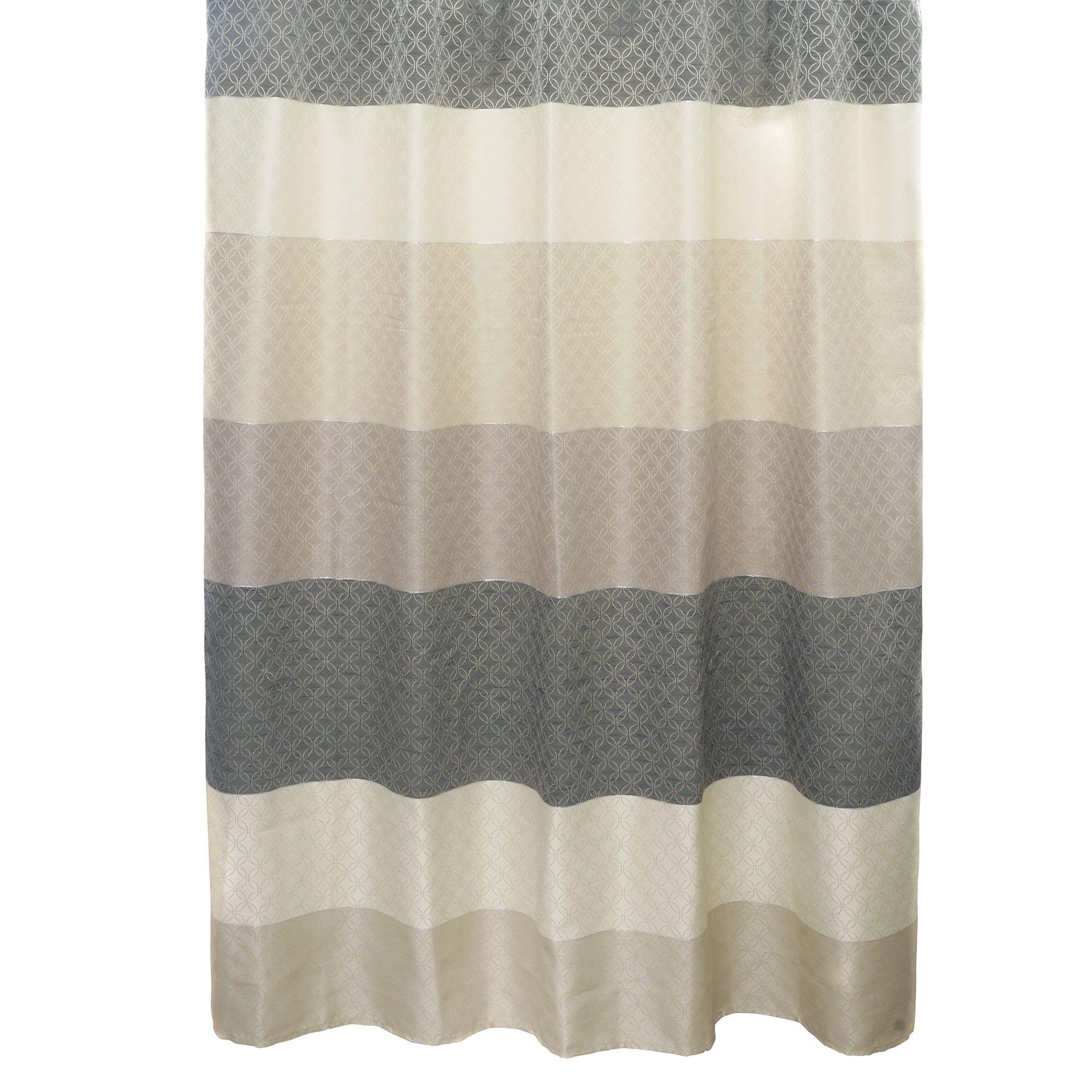 Shop Famous Home Tivoli Cream Shower Curtain